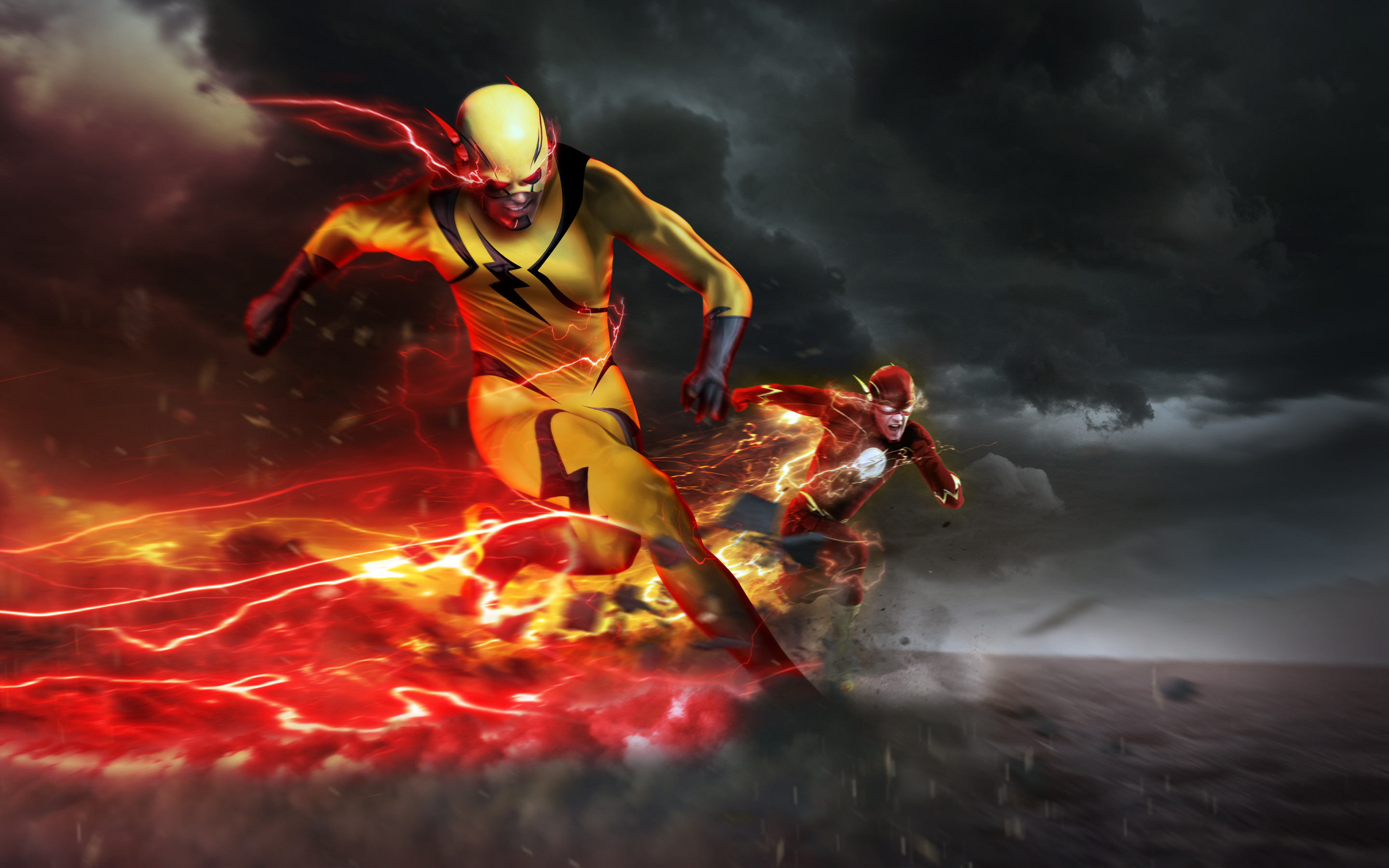 2880x1800 Reverse Flash Eobard Thawne Barry Allen The Dc Comics
