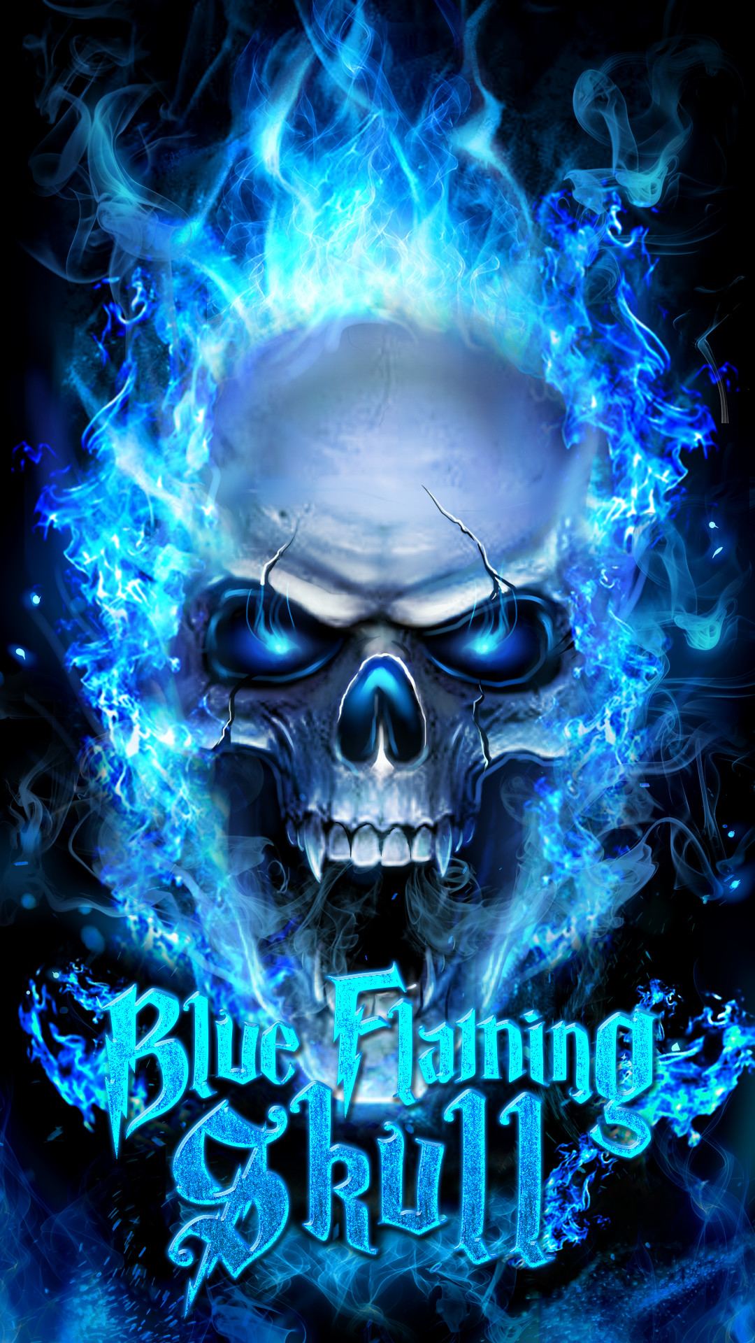 Flaming skull wallpaper 59 images - Skeleton wallpaper ...