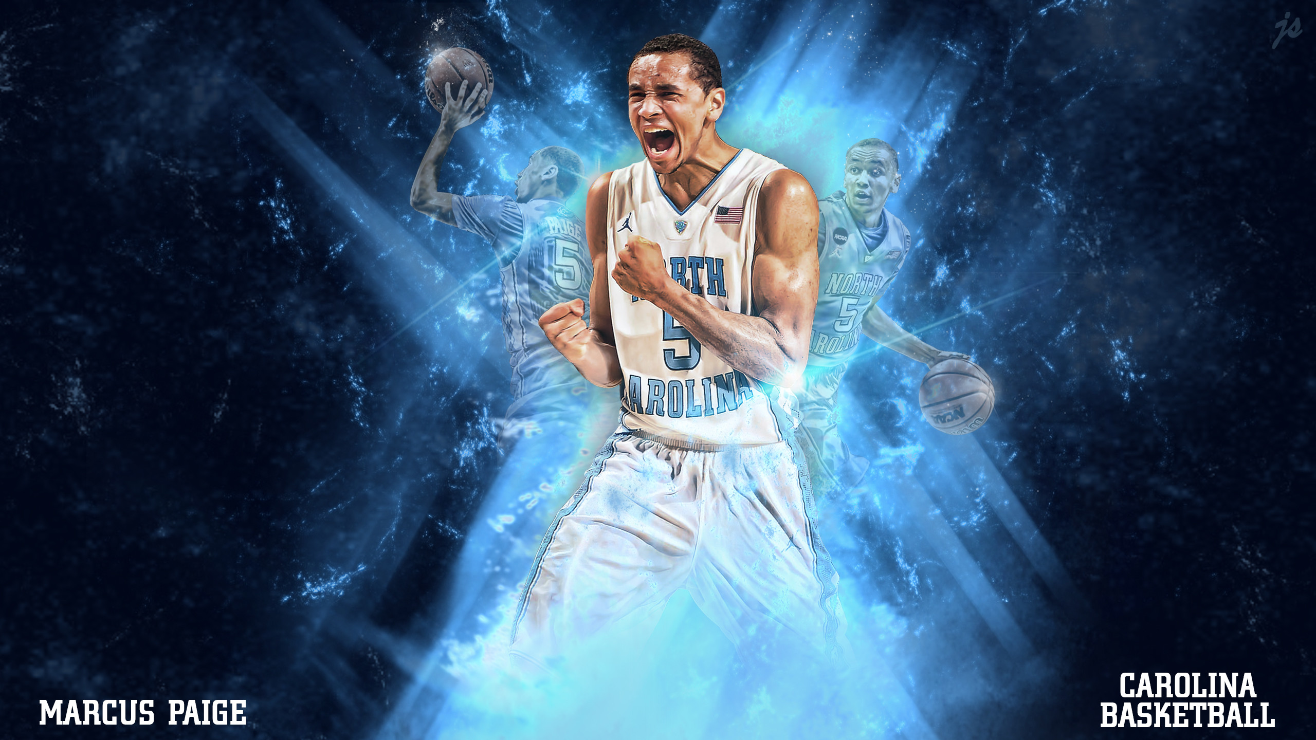2560x1440 North Carolina Basketball Wallpaper