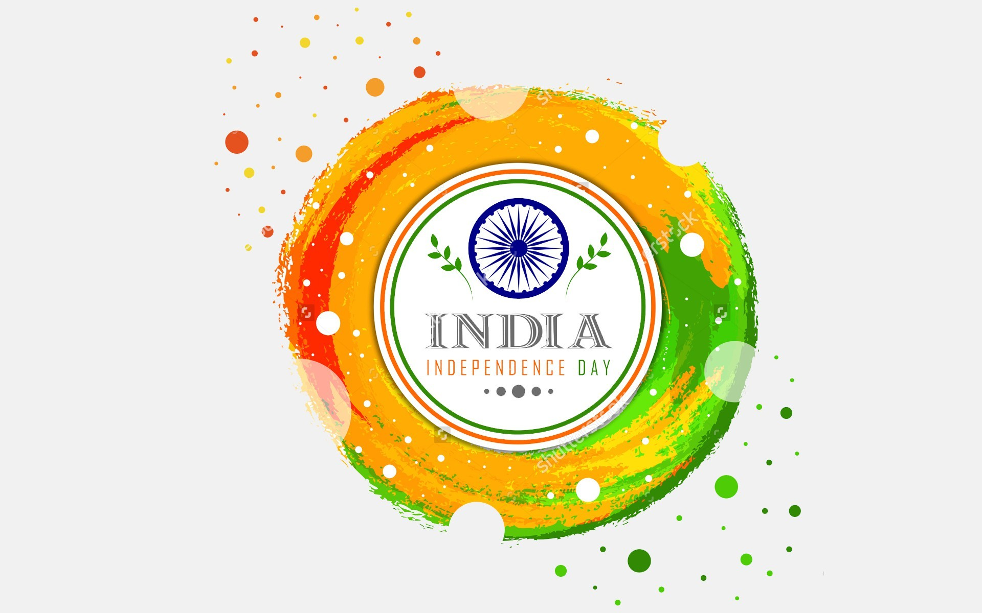 1920x1200 Indian Independence Day Card 2018