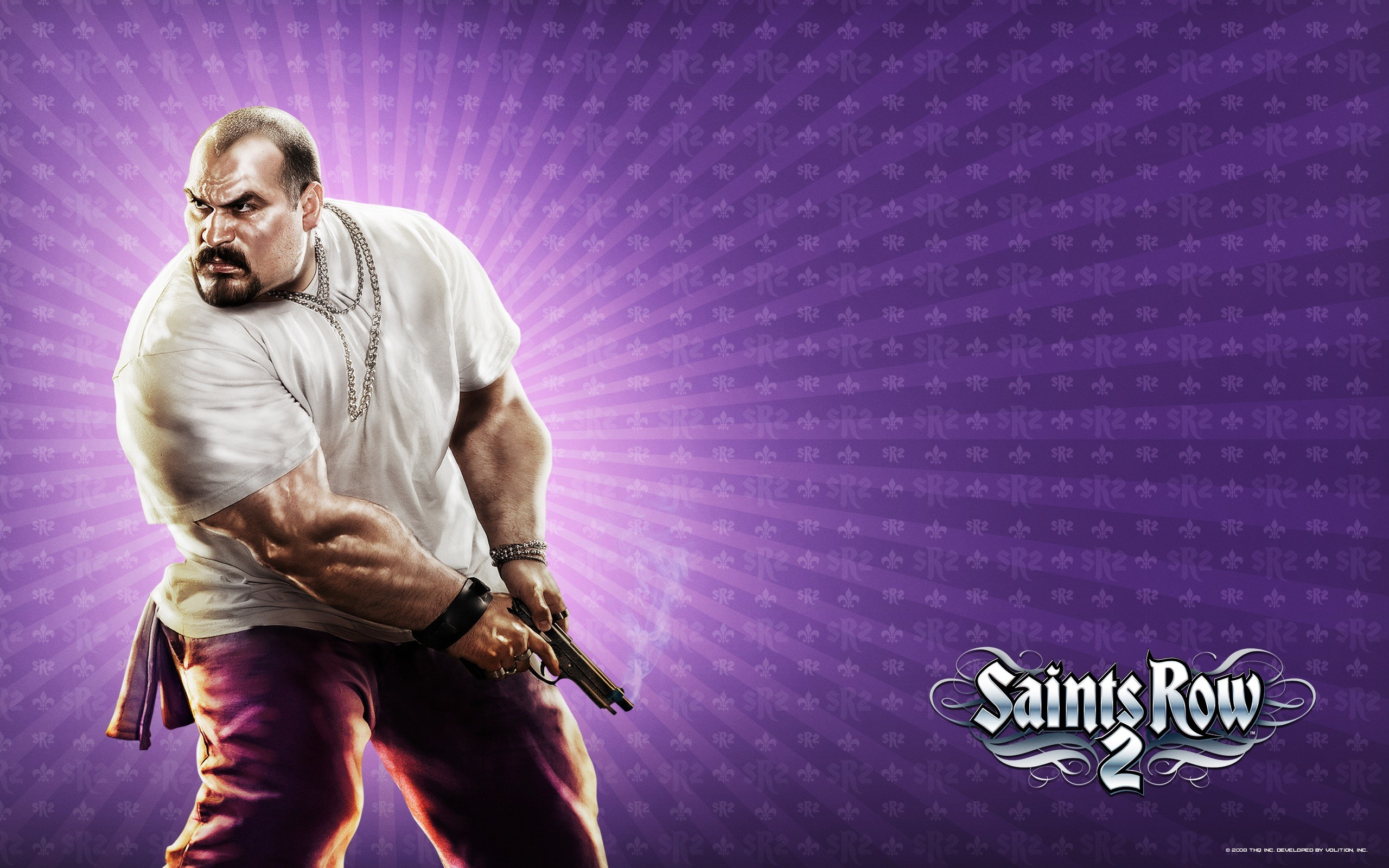 2560x1600 Saints Row 2 Wallpaper Saints Row Games Wallpapers