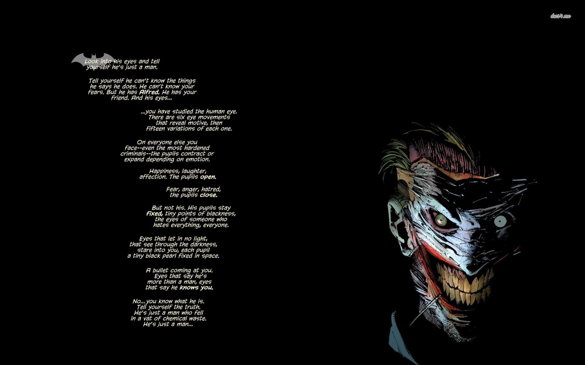 1920x1200 Joker   Batman Wallpaper   Quote Wallpapers   #23798