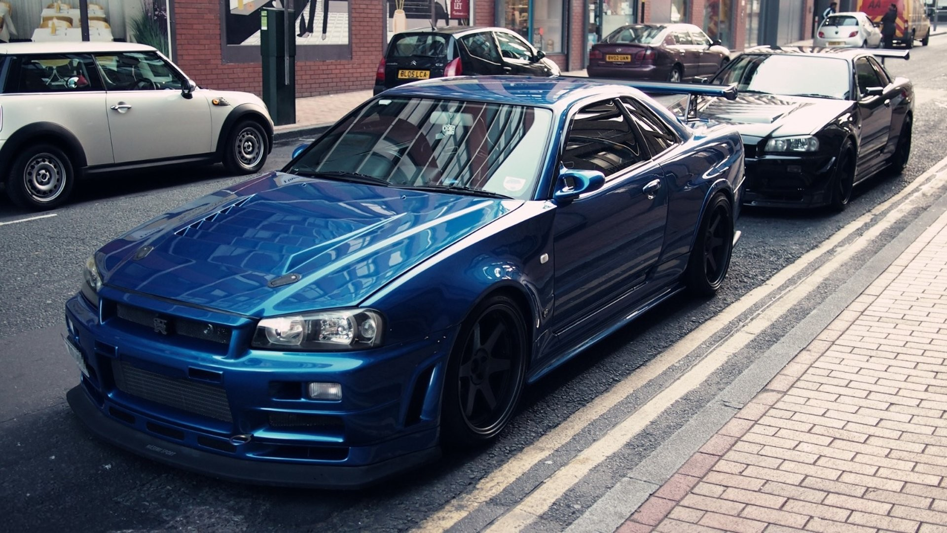 Nissan Skyline Gtr R34 Hd Phone Wallpapers Nissan Recomended Car