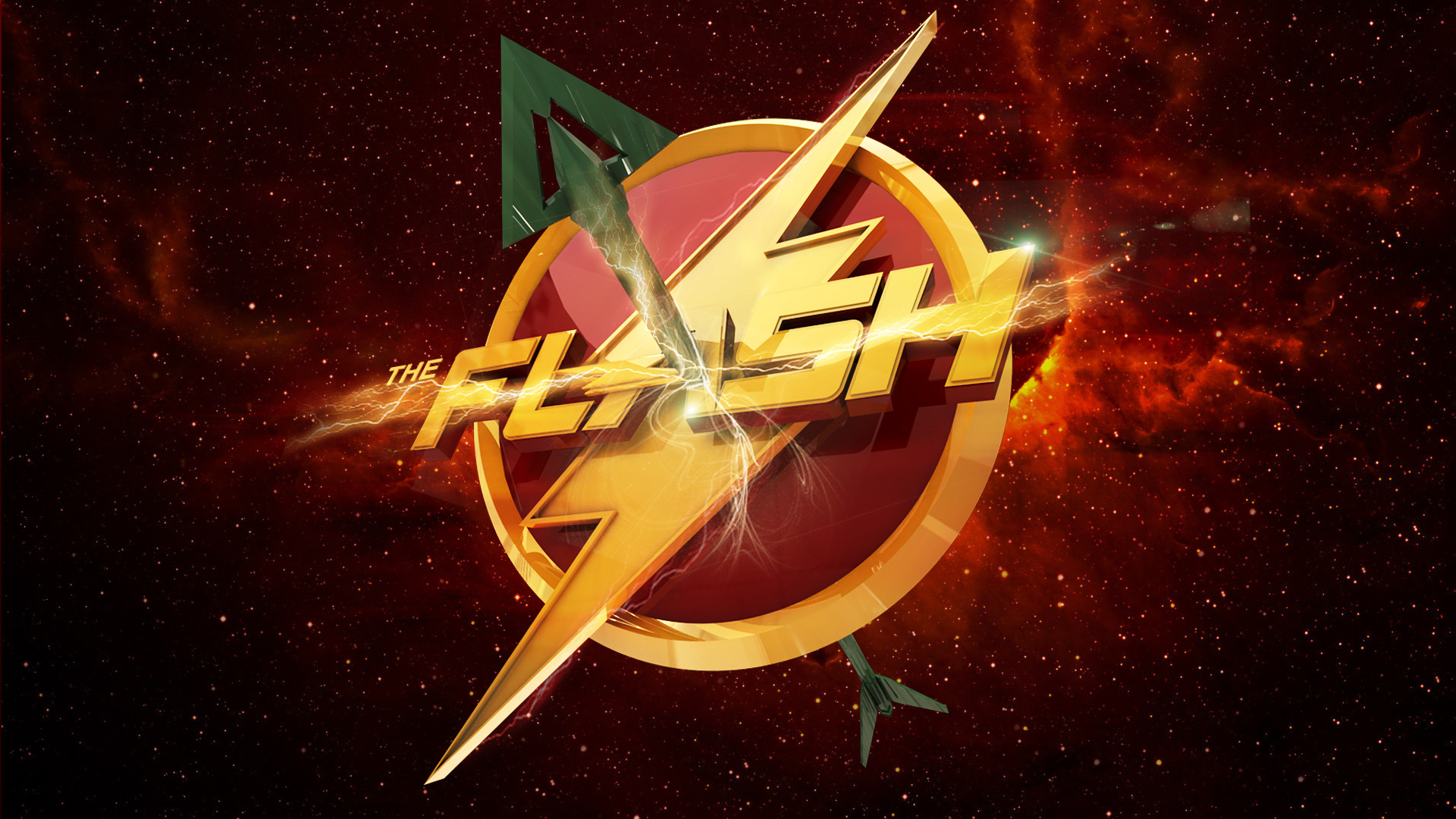 The Flash Logo Wallpaper (77+ Images