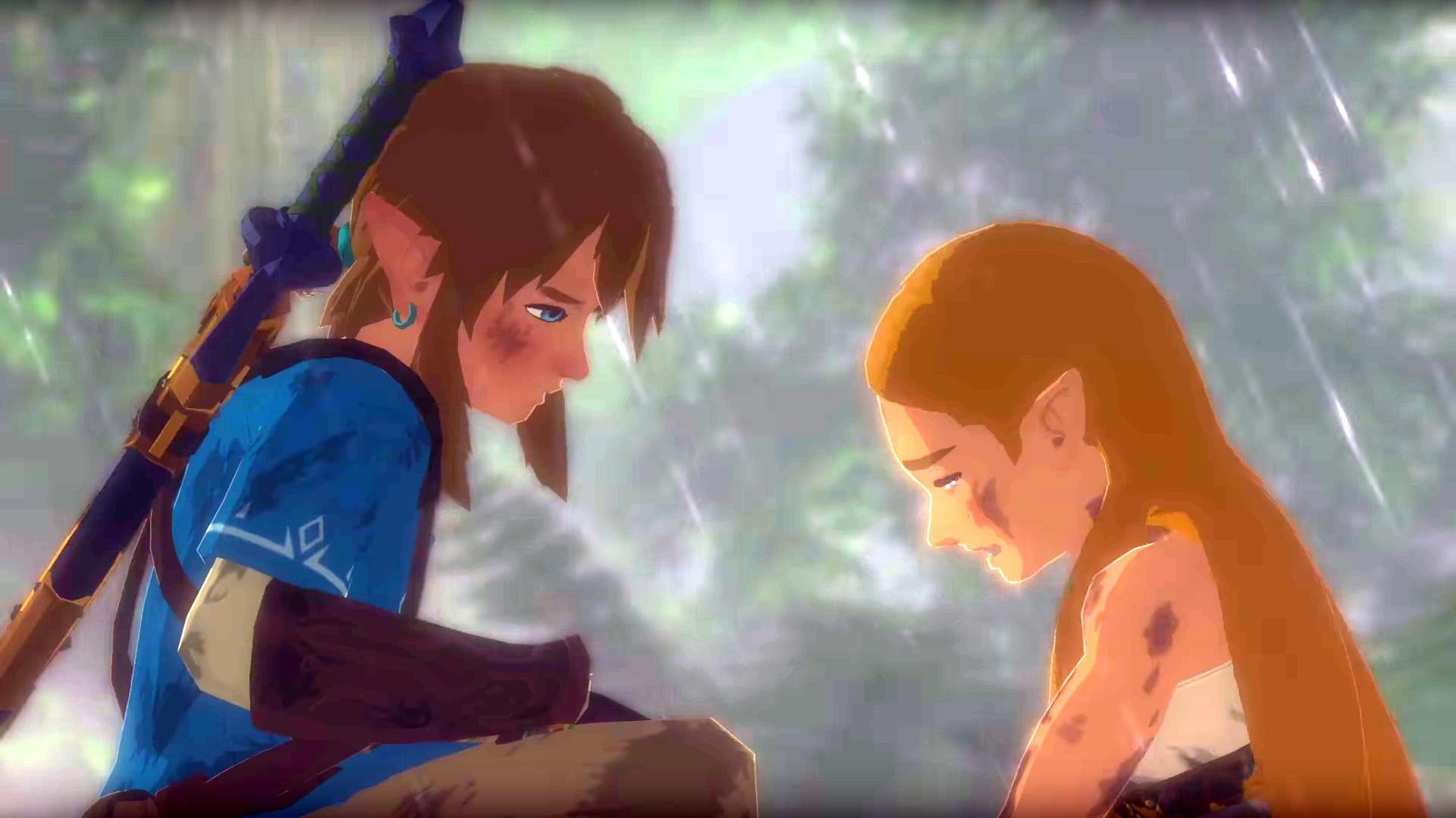 Zelda Wallpaper Breath Of The Wild: Zelda Link Wallpaper (70+ Images