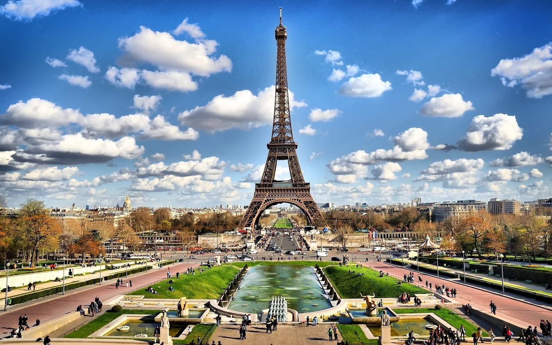 1920x1200 Eiffel Tower In Paris World Miracle Best Wallpapers