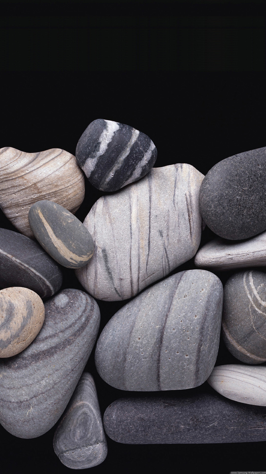 1080x1920 Grey Pebbles Lockscreen iPhone 6 Plus HD Wallpaper ...