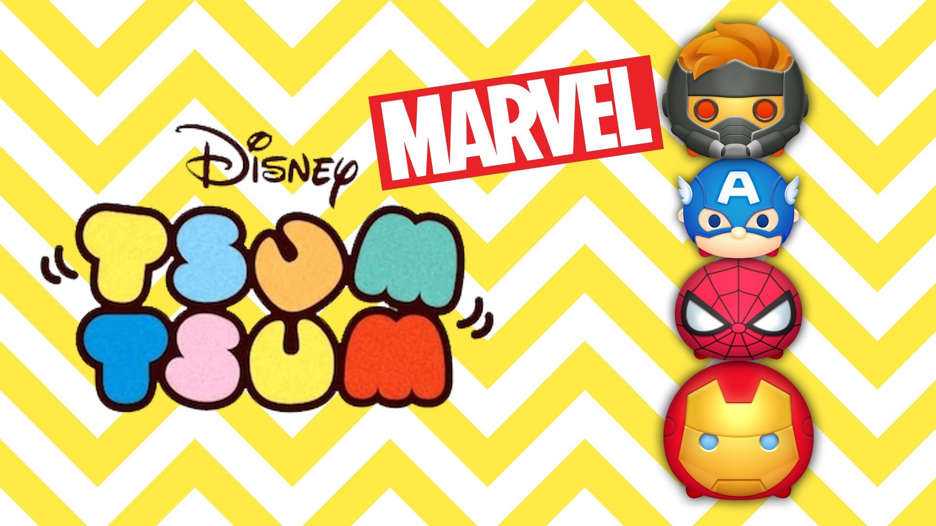 1920x1080 Kennedy opens Marvel Tsum Tsum mystery bags Series 1 (blind bags)