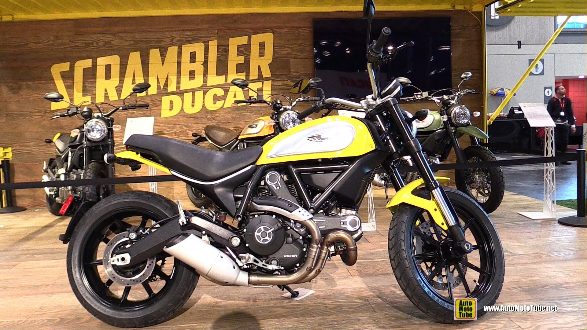 1920x1080 2015 Ducati Scrambler Icon - Walkaround - 2014 New York Motorcycle Show -  YouTube