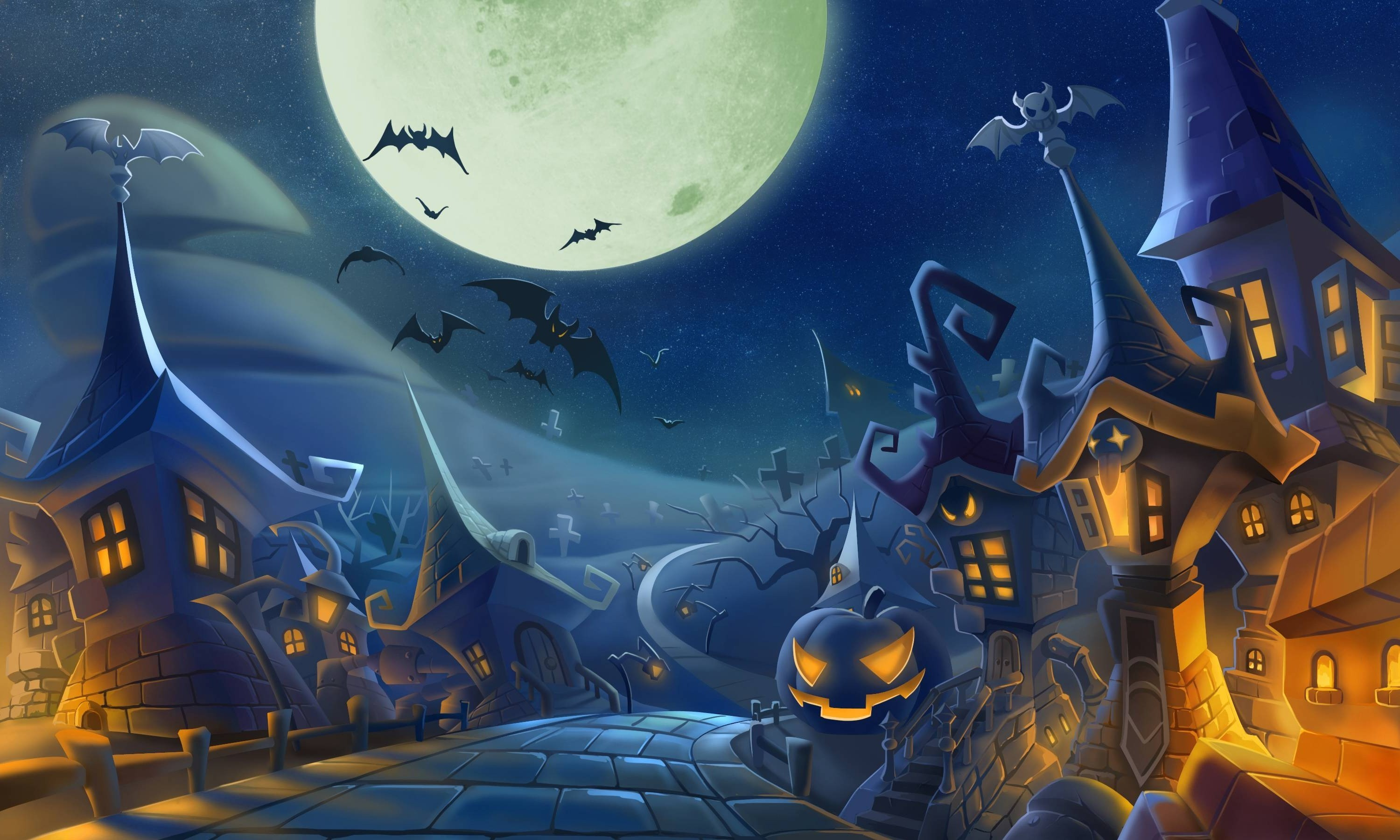 spooky halloween backgrounds (55+ images)