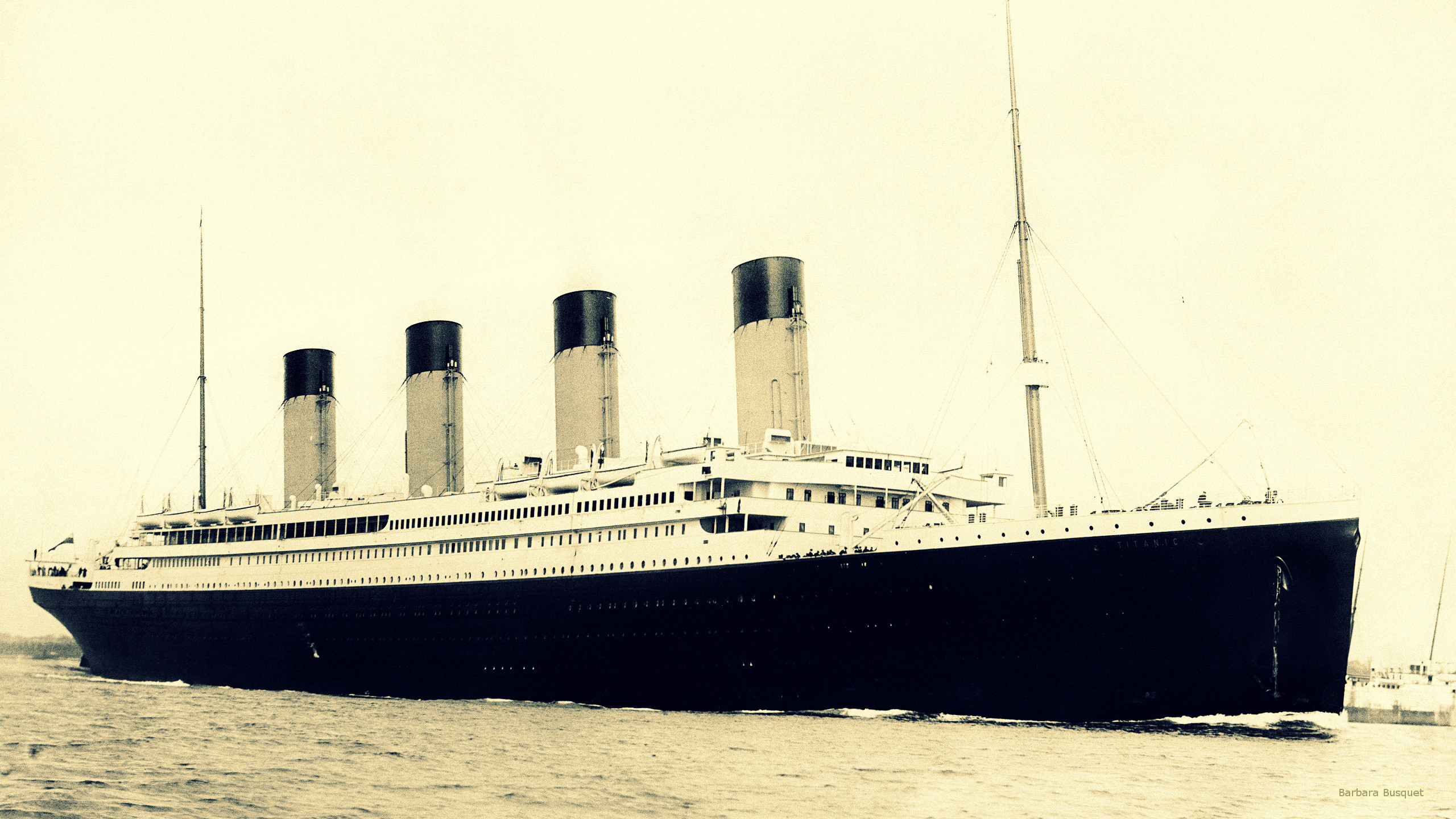 2560x1440 RMS Titanic wallpaper.