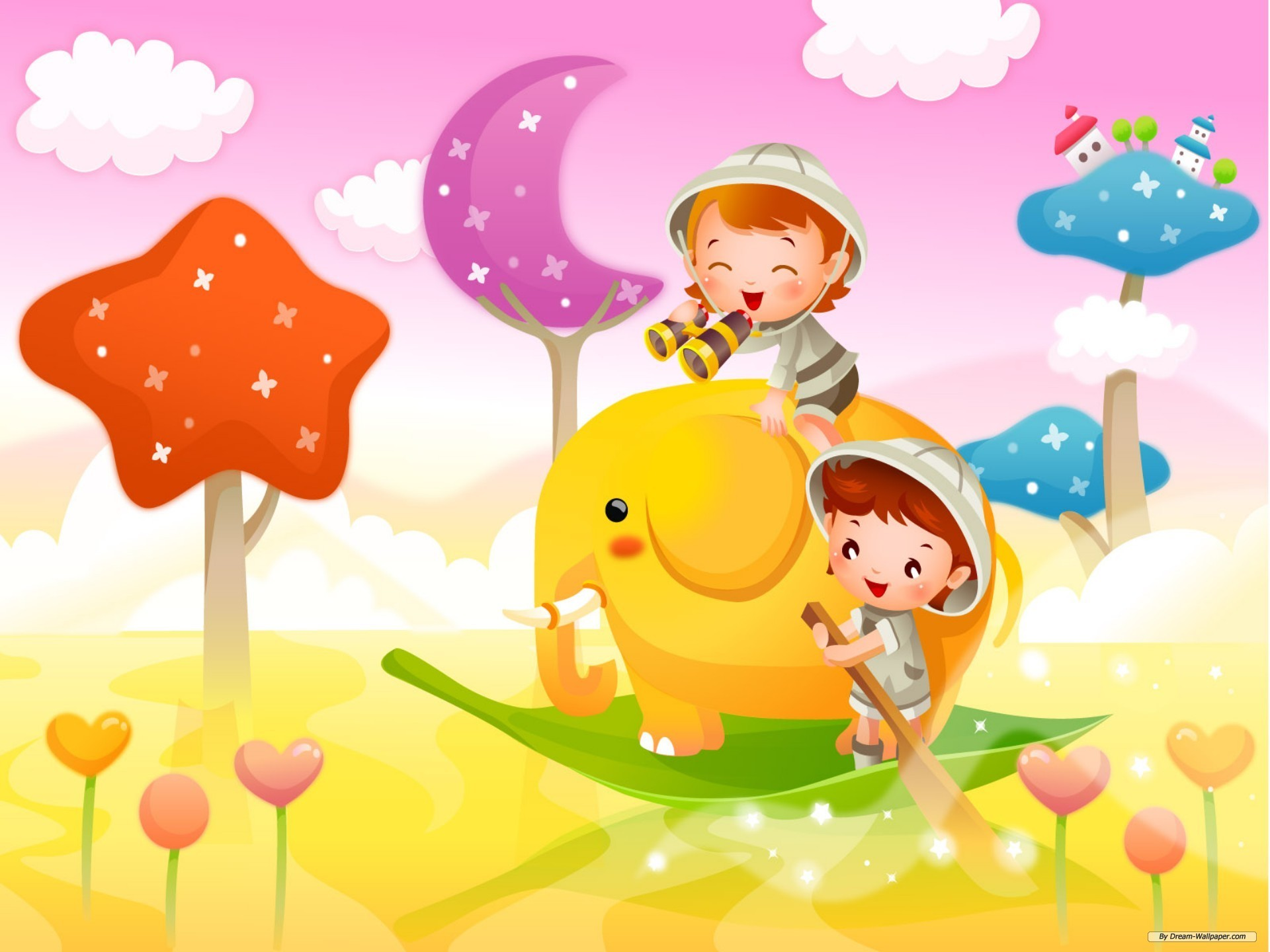 1920x1440 Image for Cartoons For Kids Background Wallpaper