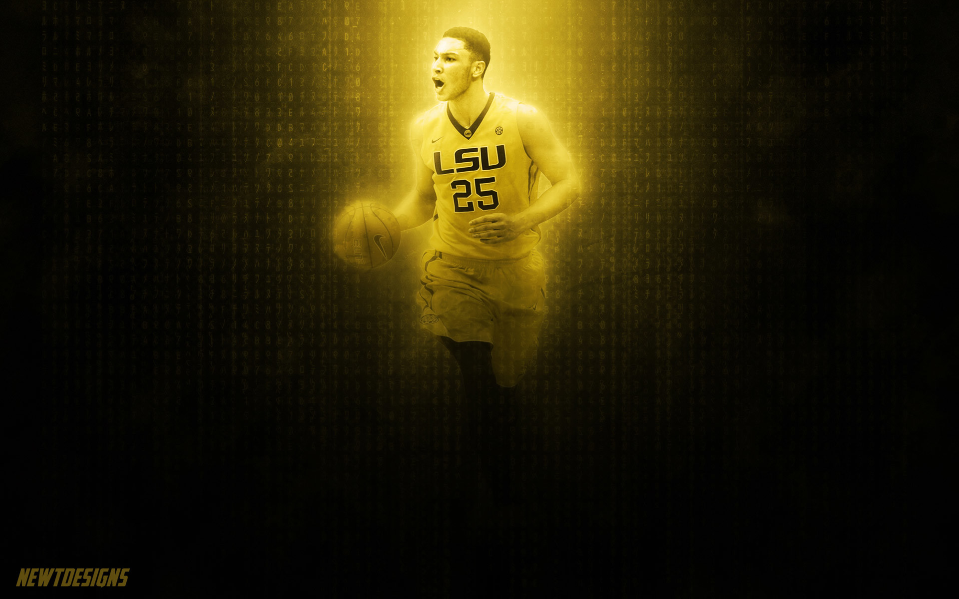 1920x1200 Ben Simmons LSU Tigers 2016 Wallpaper