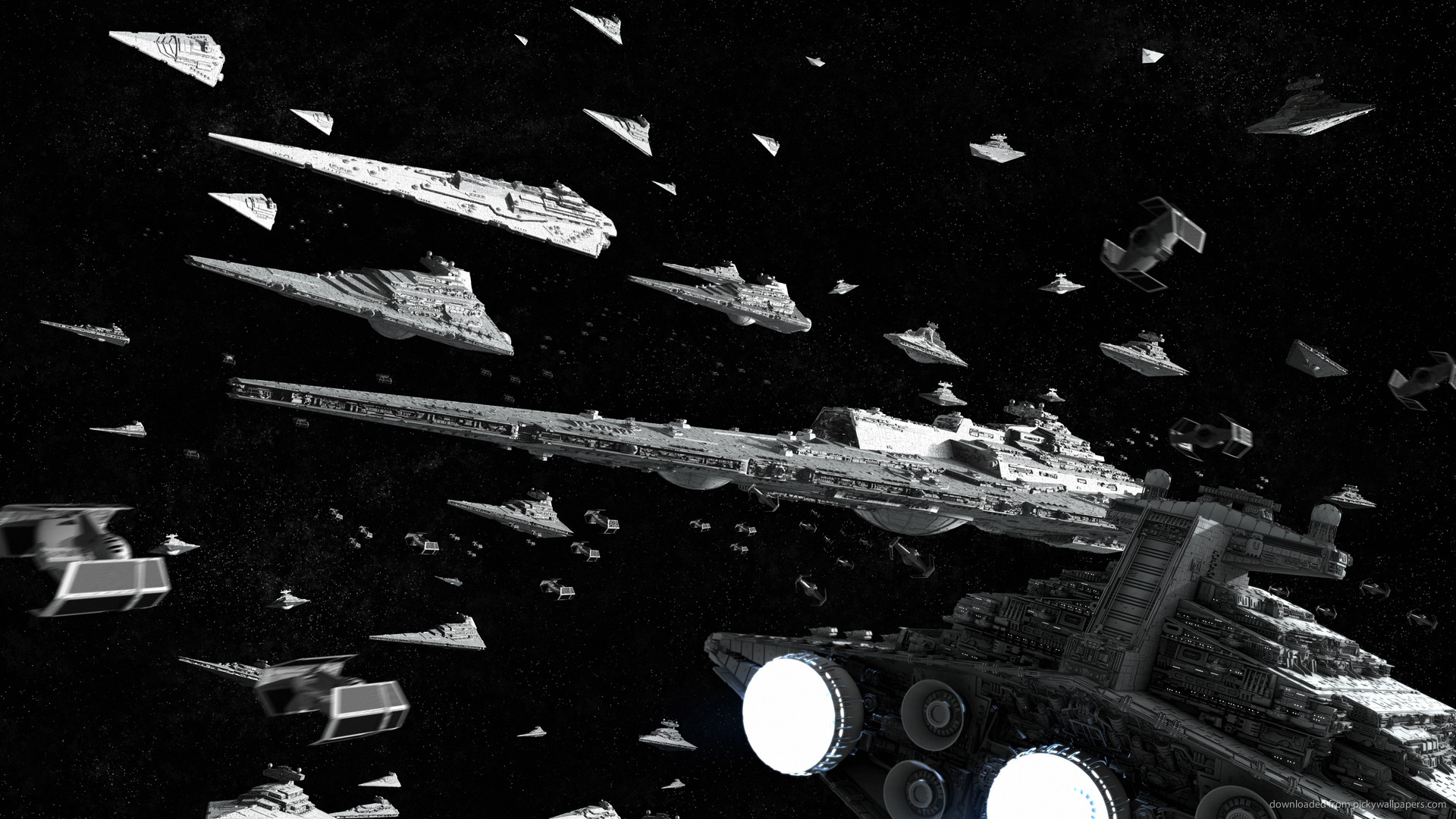 1920x1080 Star Wars Imperial Fleet picture