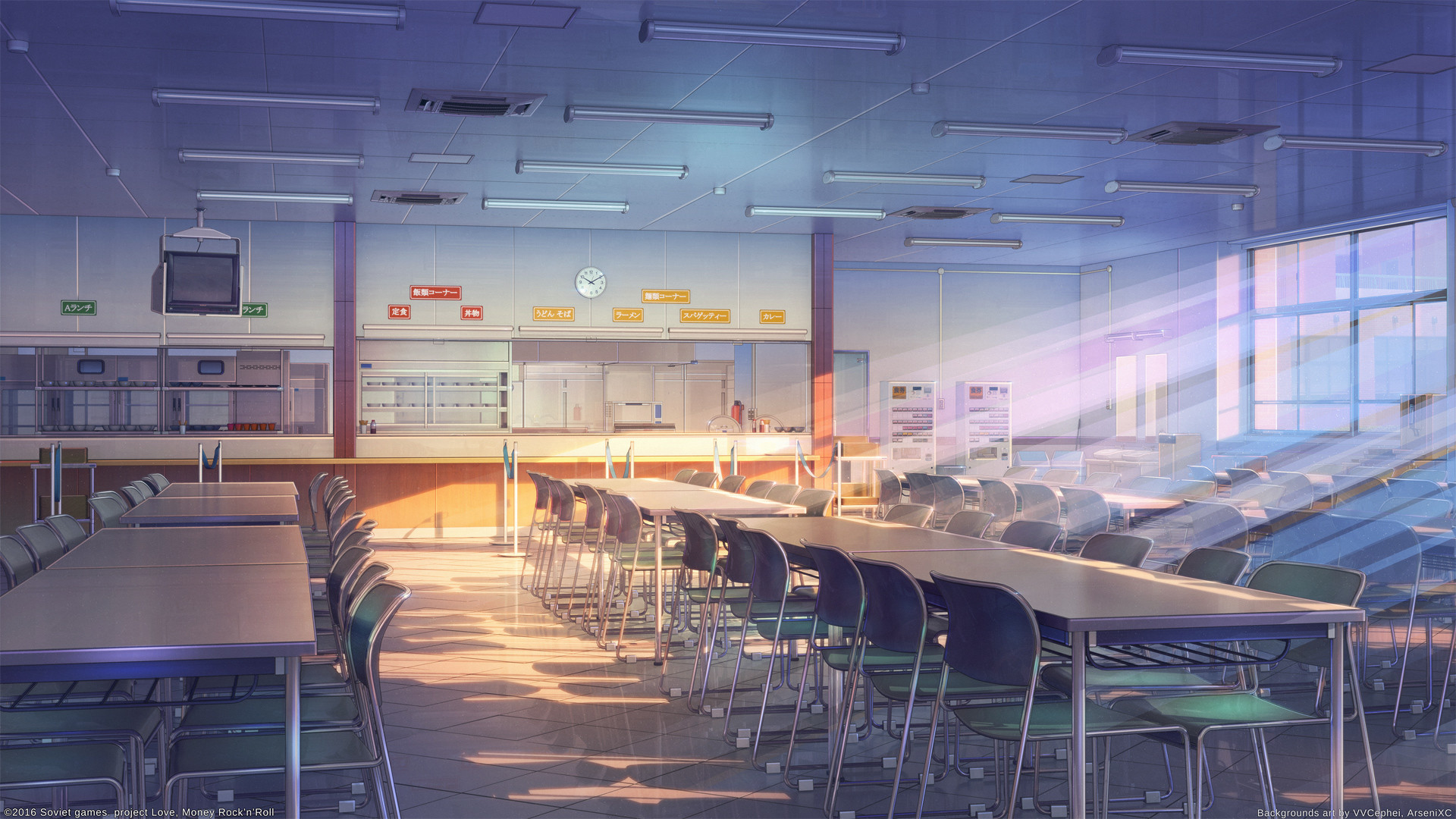 1920x1080 School Anime Scenery Background Wallpaper | Resources: Wallpapers -  Illustrated | Pinterest | Anime scenery, Scenery and Anime