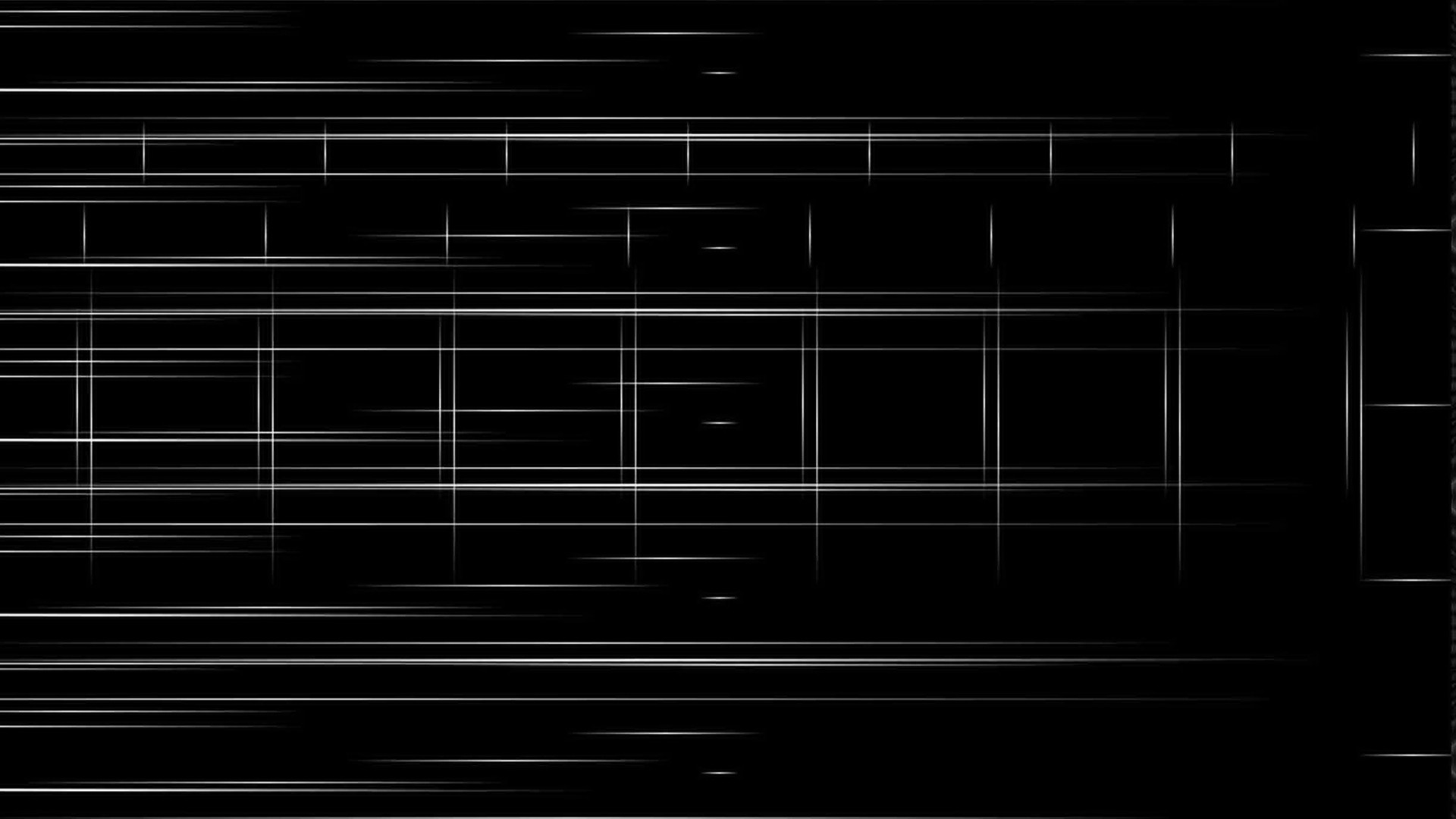 1920x1080 Preview wallpaper black background, stripes, black and white, minimalist