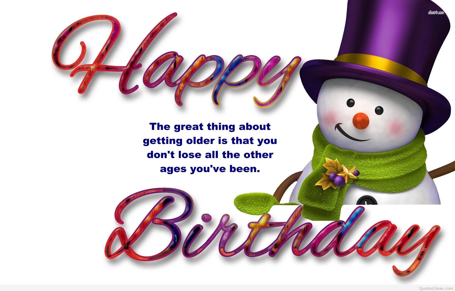 1920x1227 ... funny png sowman happy birthday quote ...