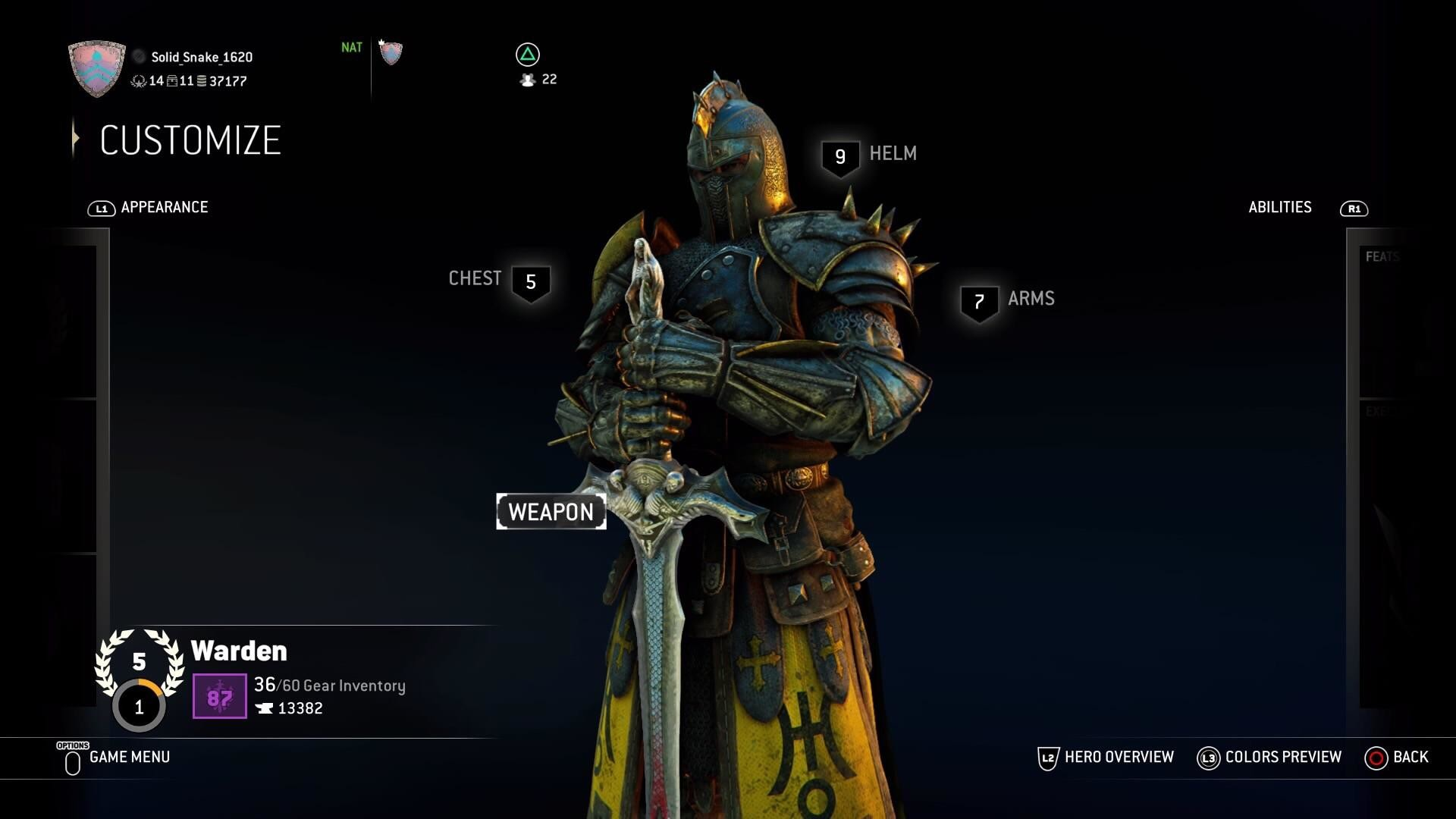 1920x1080 Bug/GlitchA weird background bug happen while I was trying to change up my  character and it gave my Warden some dramatic lighting, I'm really digging  it ...