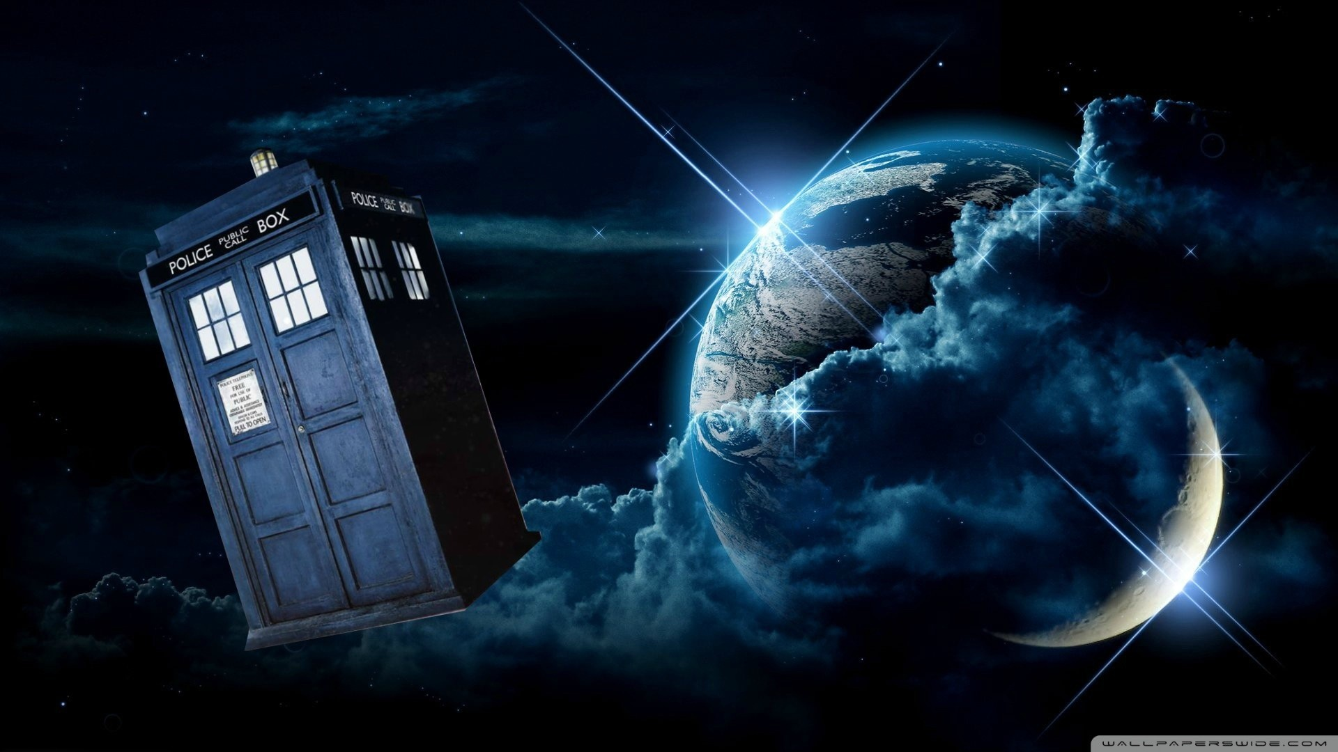 1920x1080  Doctor Who Tardis Wallpaper in HQ Resolution