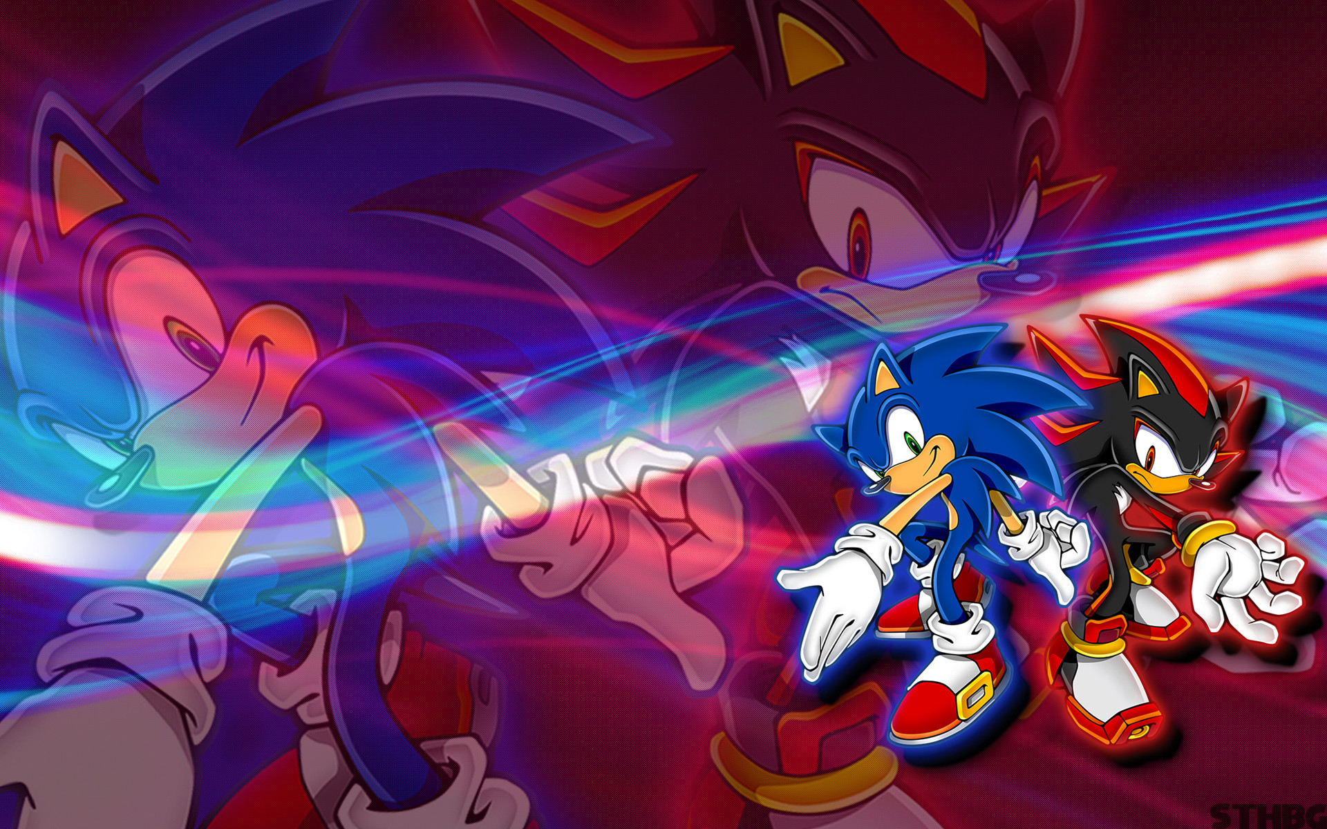 1920x1200 Sonic And Shadow Wallpaper by SonicTheHedgehogBG Sonic And Shadow Wallpaper  by SonicTheHedgehogBG