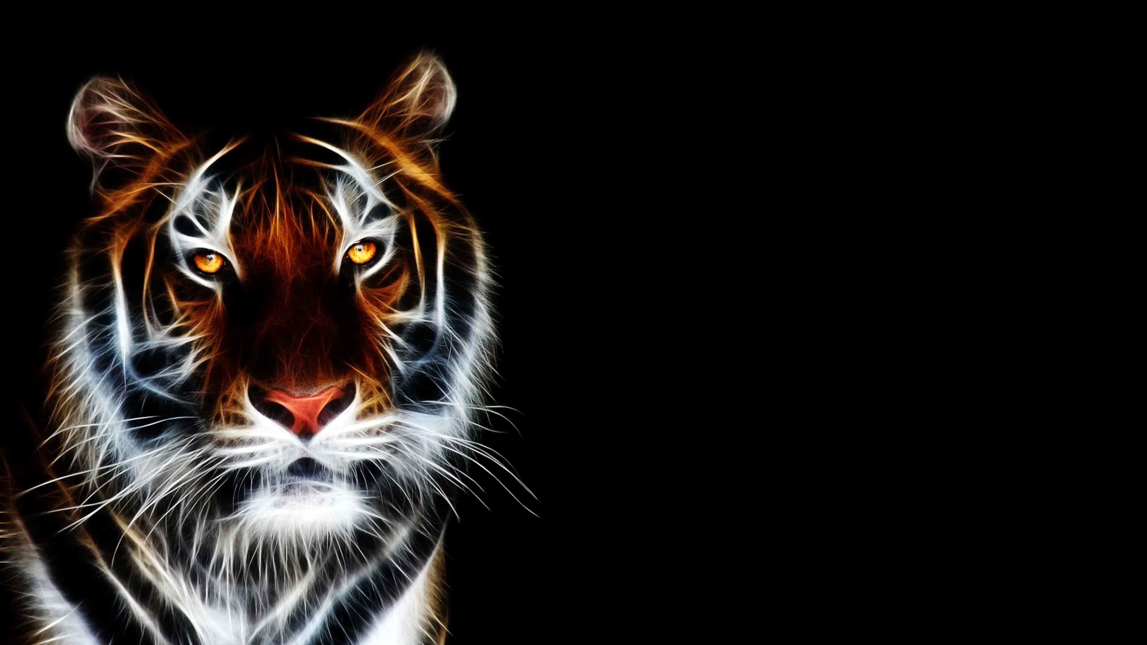 3840x2160 ... 3d Animated Tiger Wallpapers | 3d wallpaper HD