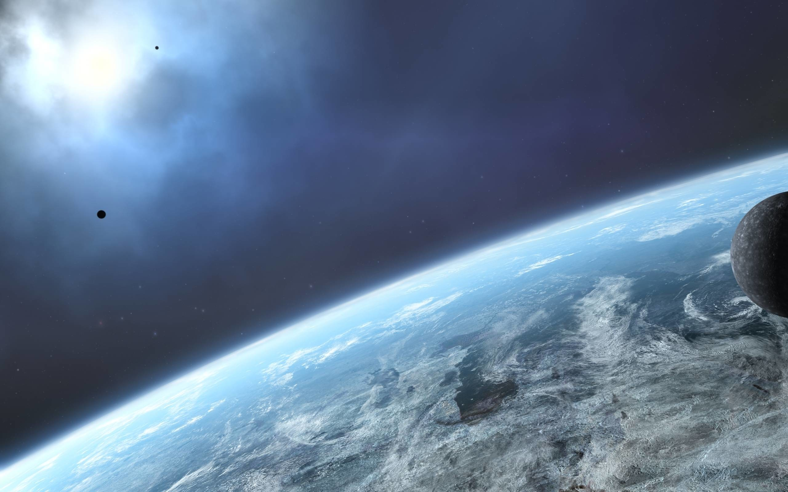 2560x1600 Earth From Outer Space Wallpaper Hd Cool 7 HD Wallpapers