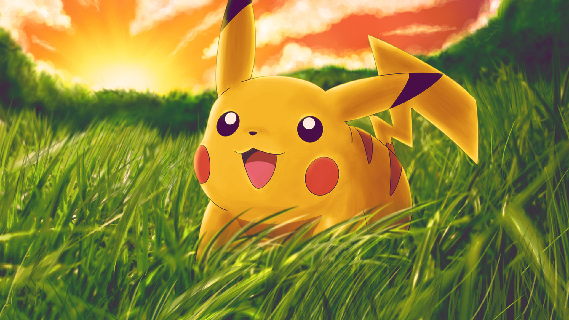 1920x1080 ... Wonderful Pikachu Photos and Pictures, Pikachu HDQ Wallpapers ...