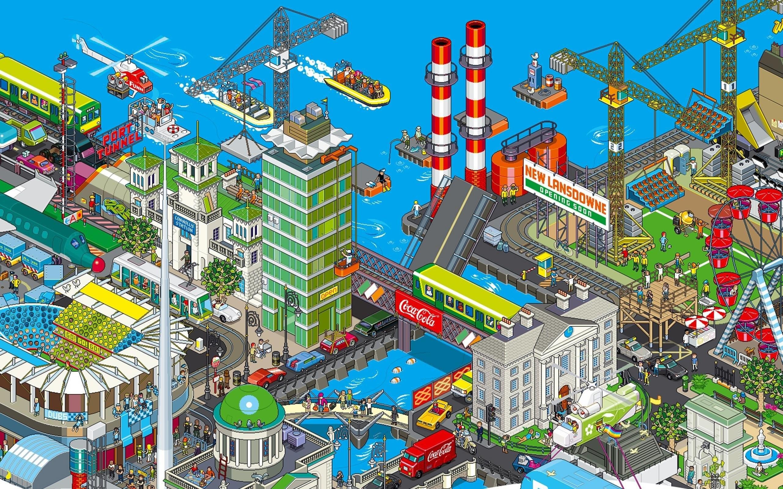 Pixel Art Wallpapers 77 Images