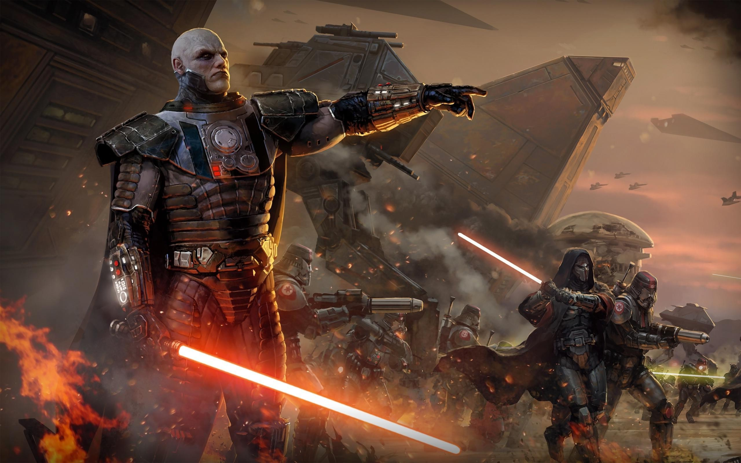 2560x1600 Star Wars, Star Wars: The Old Republic, Lightsaber