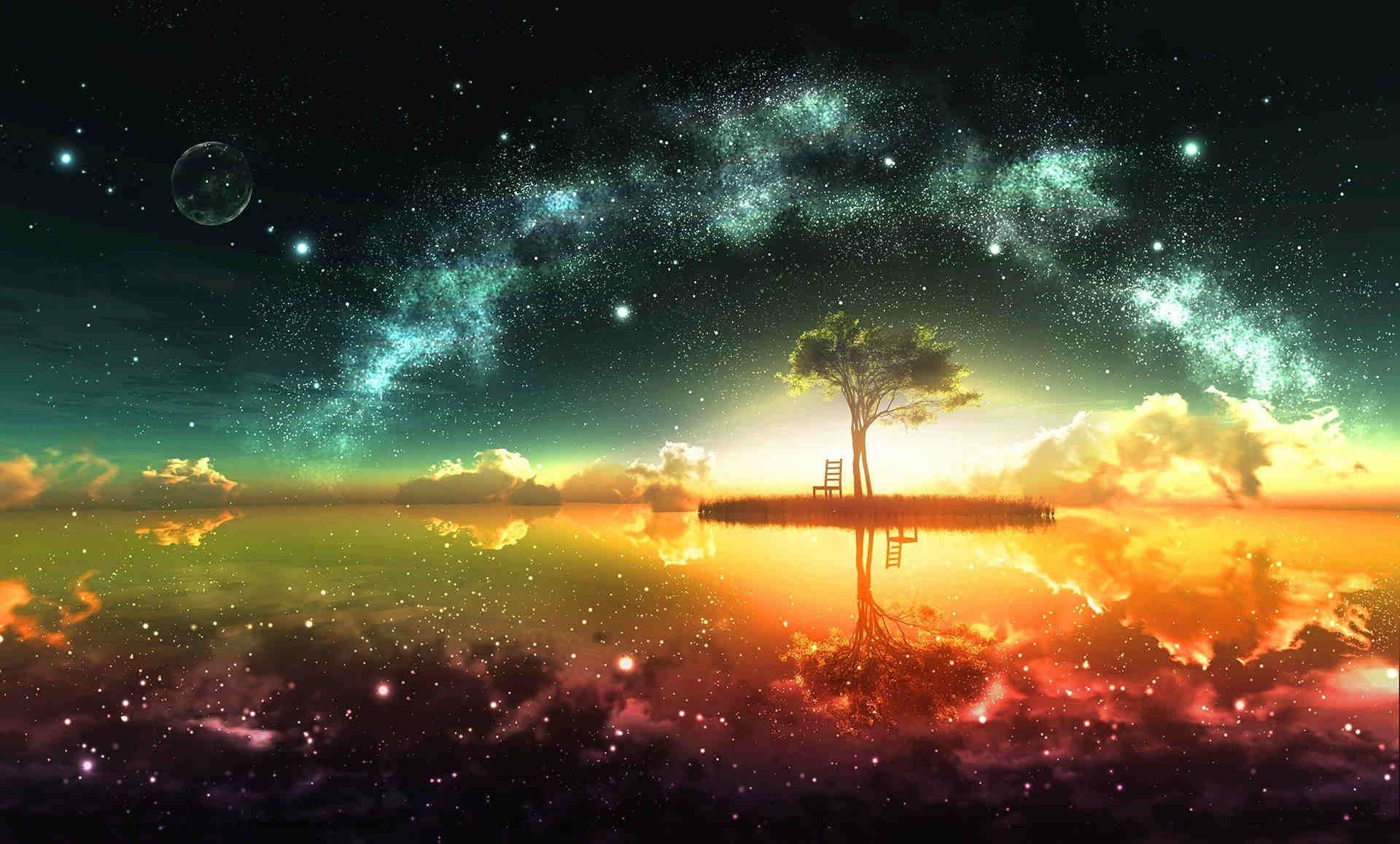 1920x1158  Dreamy Space HD Fantasy Wallpaper