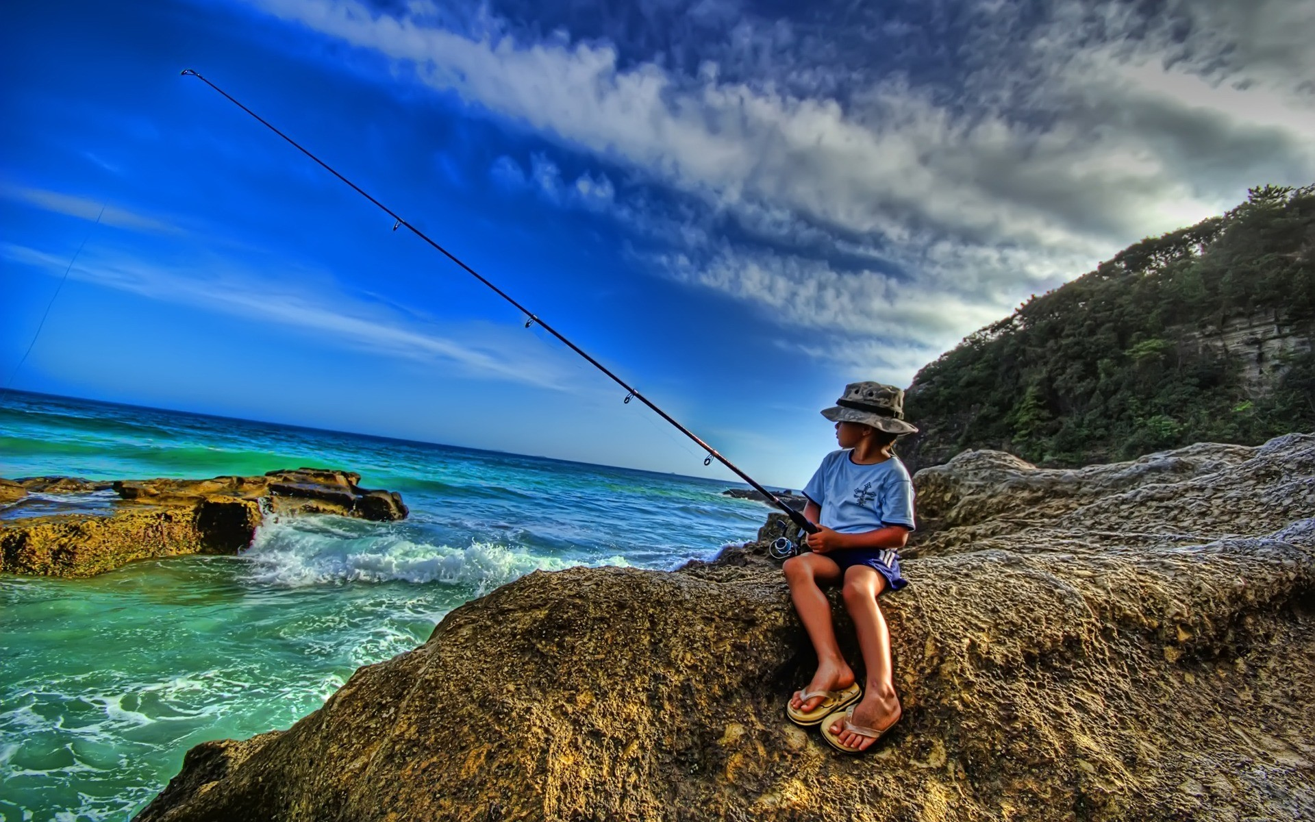 Saltwater Fishing Wallpaper Desktop 62 Images