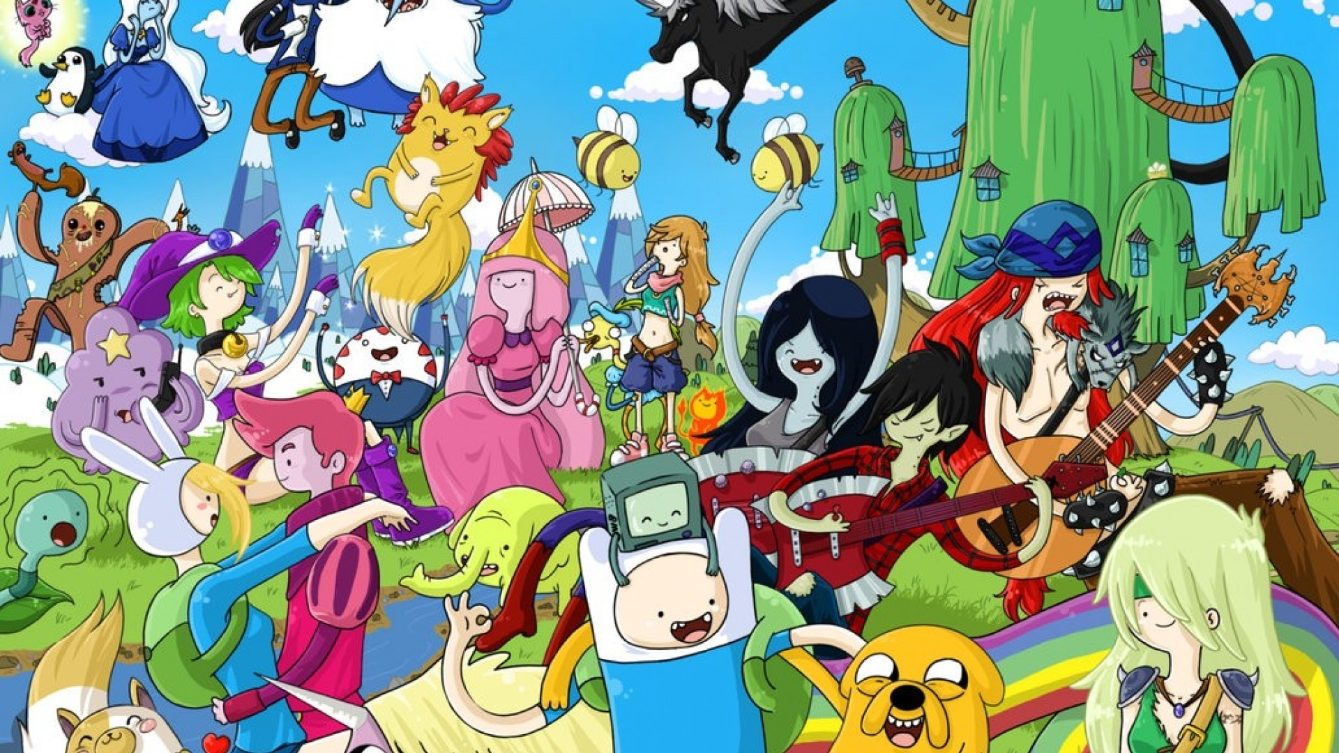 Anime Adventure Time Pictures adventure time wallpapers for desktop (55+ images)