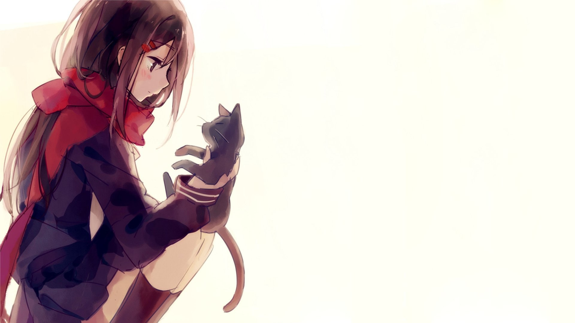 Cute anime background 66 images 1920x1080 kagerou project anime series girl cute cat wallpaper voltagebd Choice Image
