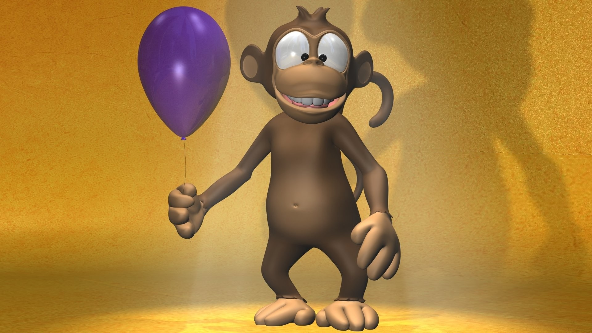 1920x1080 HD Wallpaper | Background ID:616443.  Cartoon Monkey
