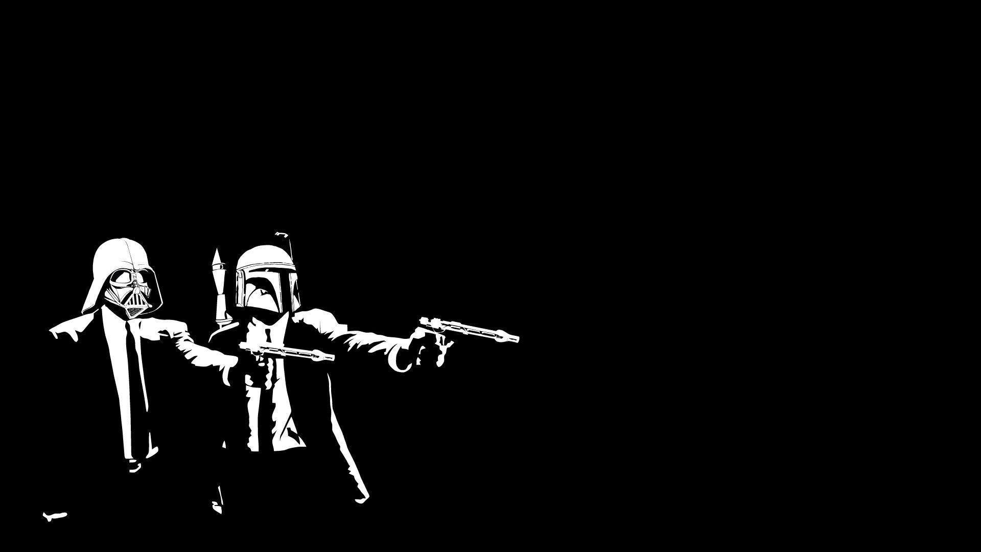 1920x1080 Star Wars Pulp Fiction Wallpaper