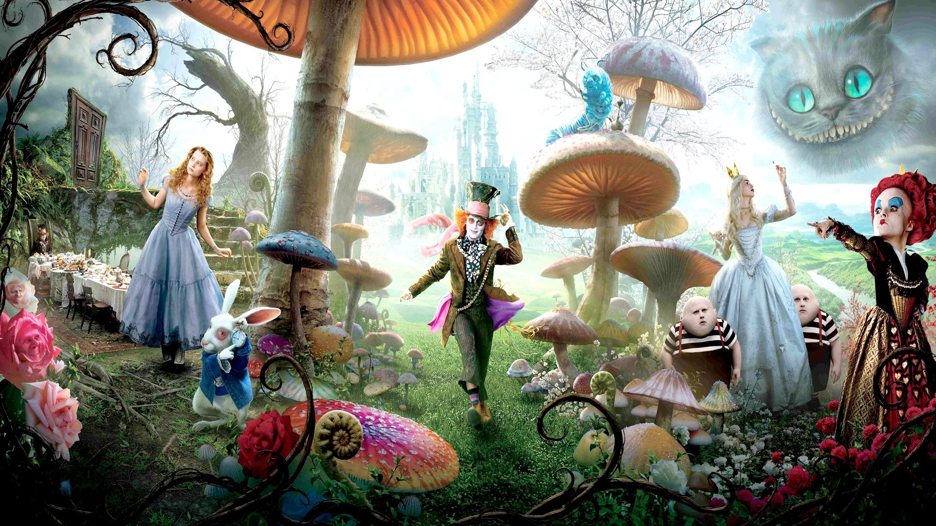 2733x1369 Beautiful Trippy Wall Murals Part   1: Trippy Wall Murals Gallery  For Gt Trippy Alice Part 97