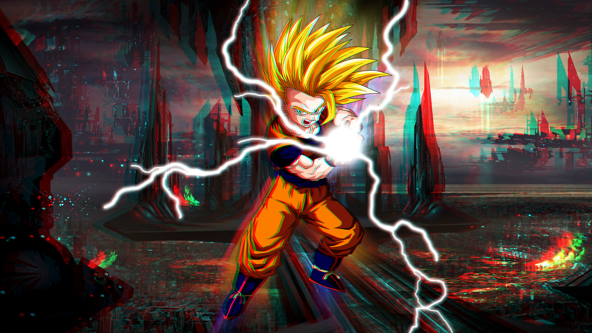 Dbz wallpaper goku 65 images - 3d wallpaper of dragon ball z ...