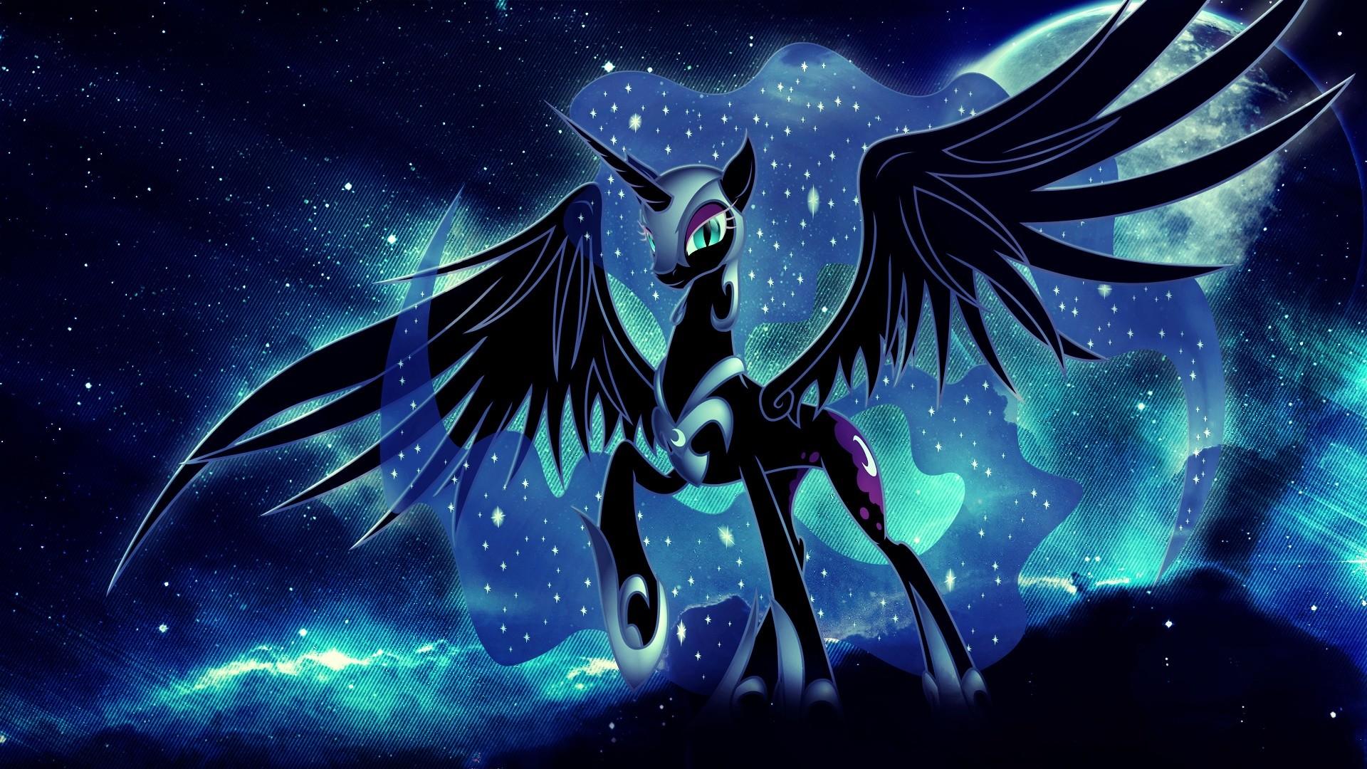 "Image - Nightmare Moon ""...and my reign lasts..."" S5E26 ...   Nightmare Moon Moon"