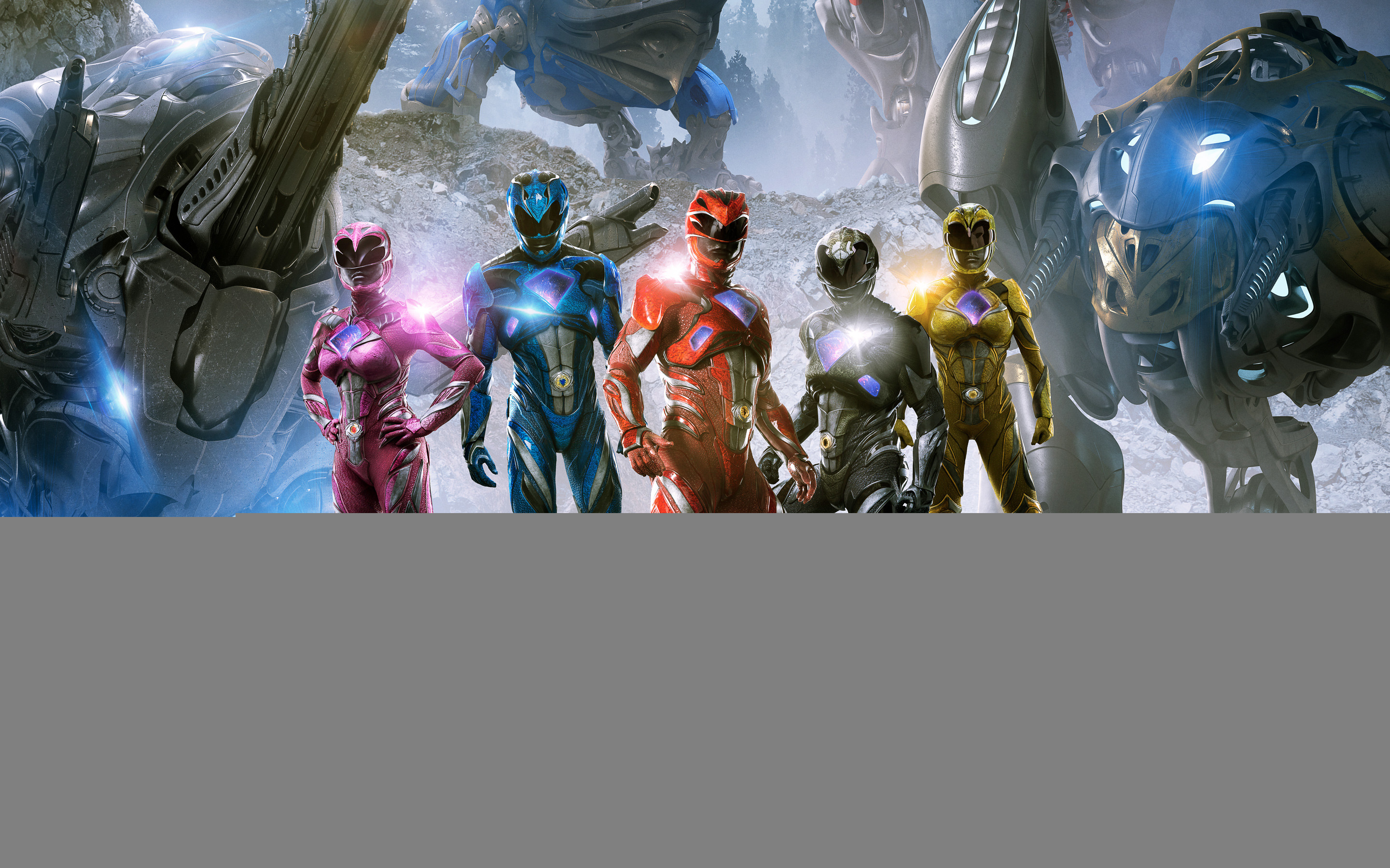 2880x1800 Power Rangers 2017 4K 8K