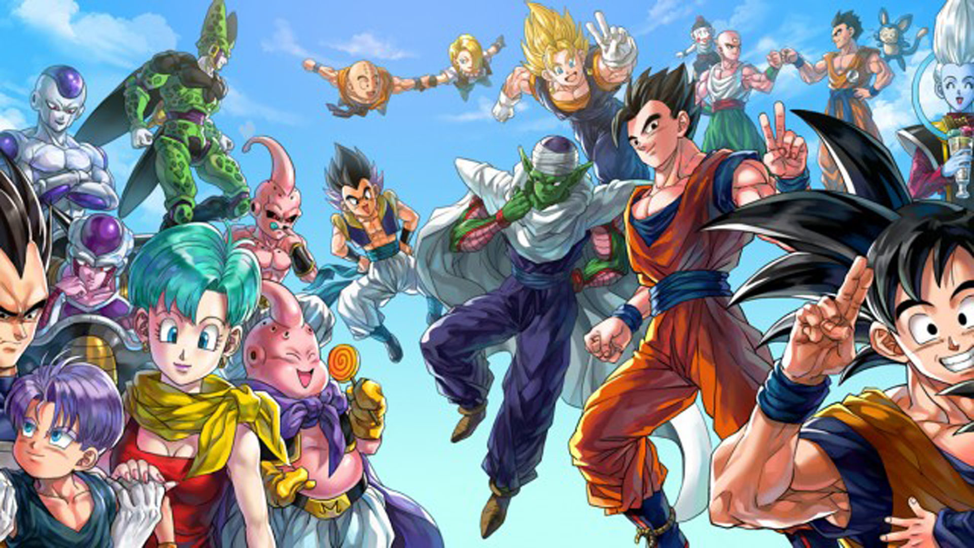 1920x1080 Awesome Dragon Ball Z Backgrounds