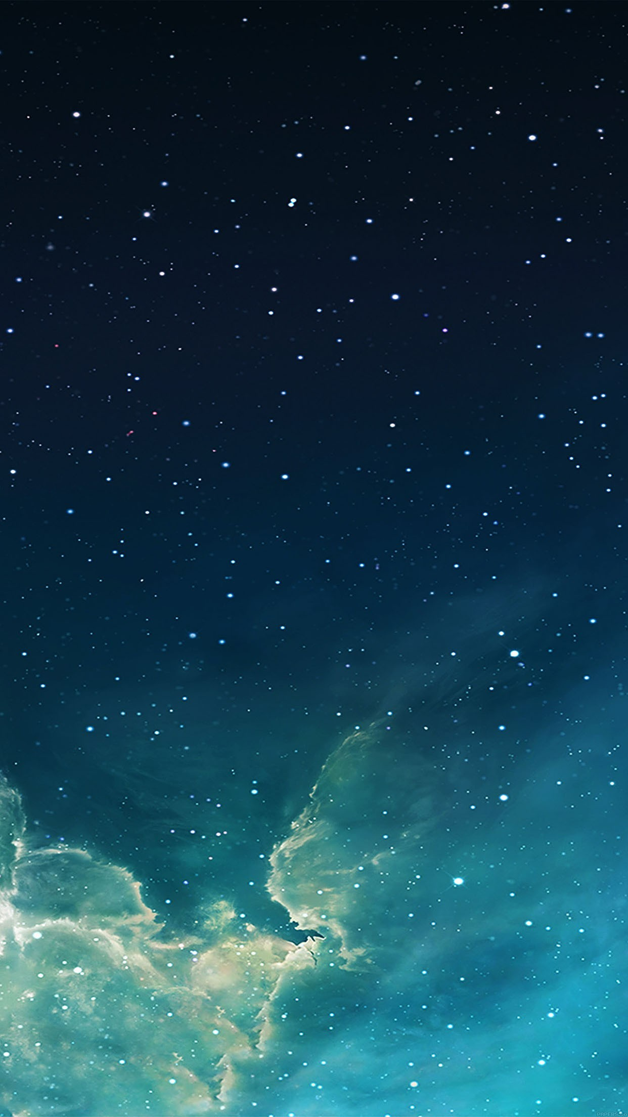 1242x2208 wallpaper galaxy blue 7 starry star sky iphone 6 plus wallpapers - daily  best…