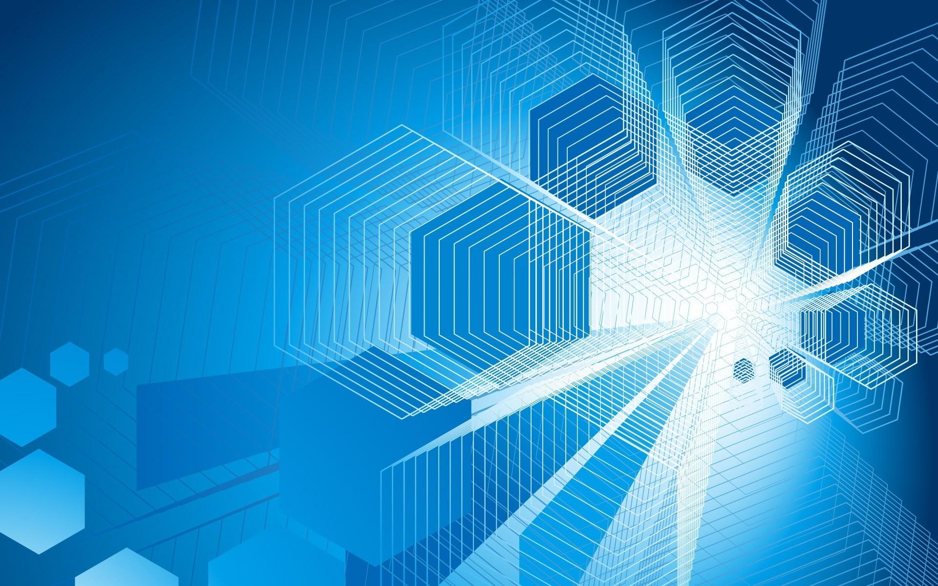 Art Wallpaper Hd For Mobile 23: Blue Hexagon Wallpaper (83+ Images