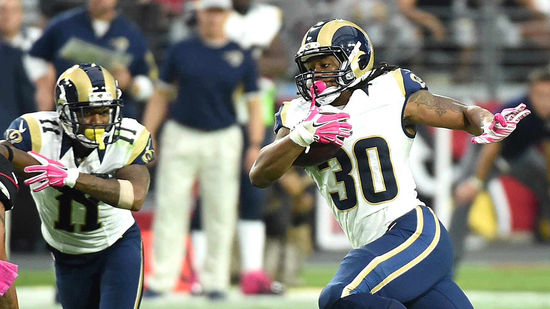 1920x1080 Rams defense stifles high-scoring Cardinals; Todd Gurley breaks out | NFL |  Sporting News