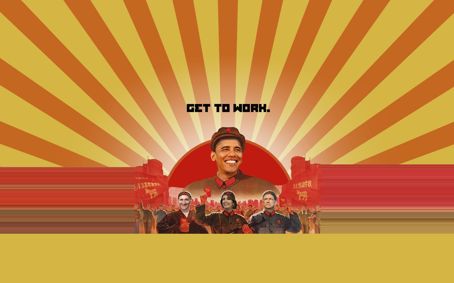 1920x1200 We build communism with Obama wallpapers and images - wallpapers, pictures,  photos