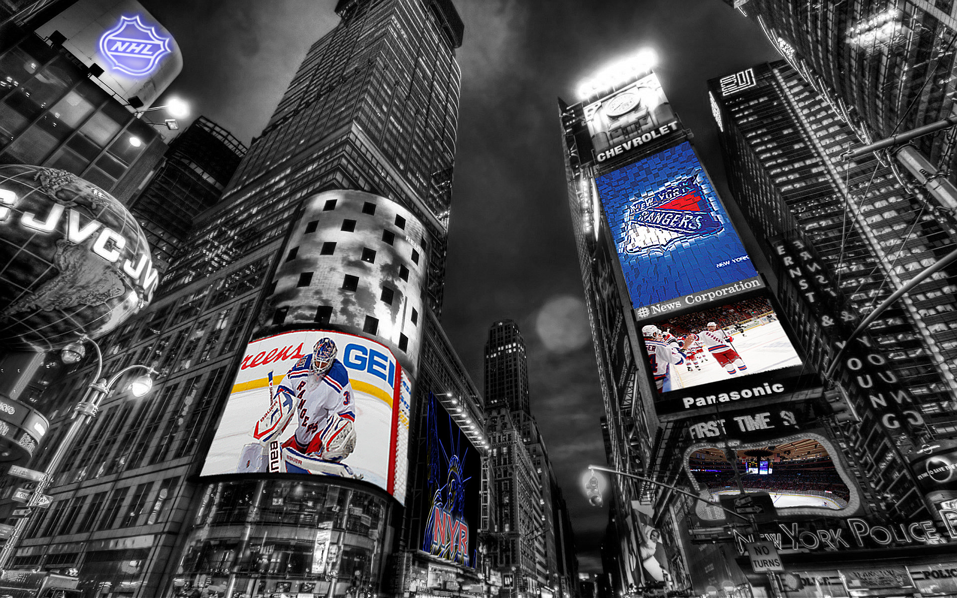 1920x1200 New-York-Rangers-Times-Square-Wallpaper-by-Realyze