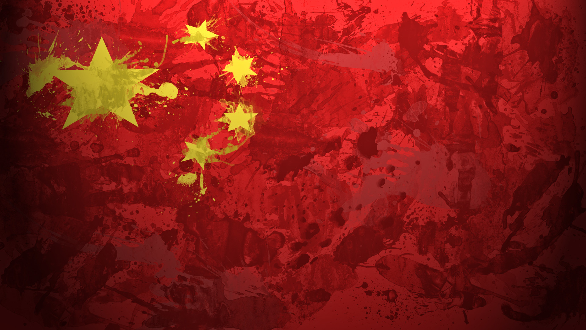 1920x1080 China Flag Art Wallpaper | High Quality Wallpapers,Wallpaper Desktop .