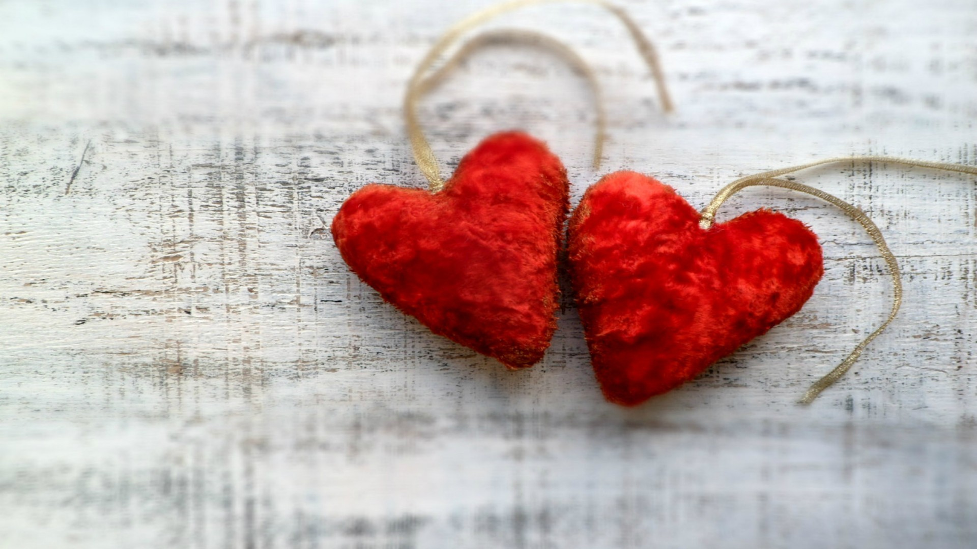 1920x1080 two-plush-red-hearts
