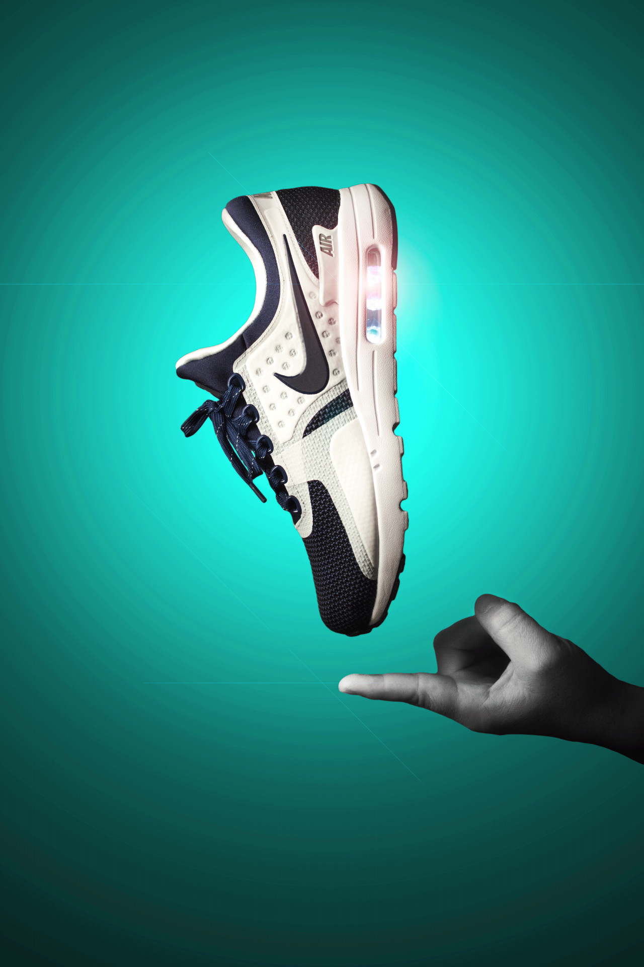 1280x1920 Vagrant Sneaker - Nike Air Max Zero wallpaper for your iPhone or.
