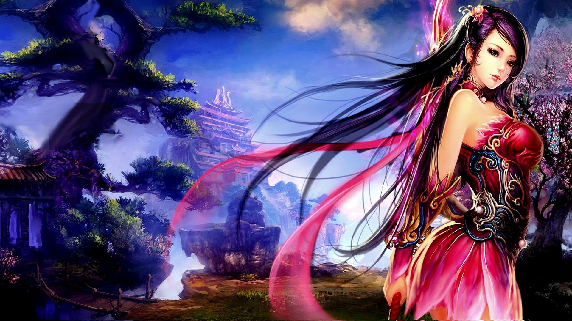Anime Inspired Hd Fantasy Wallpapers For Your Collection: Fantasy Princess Wallpaper (78+ Images