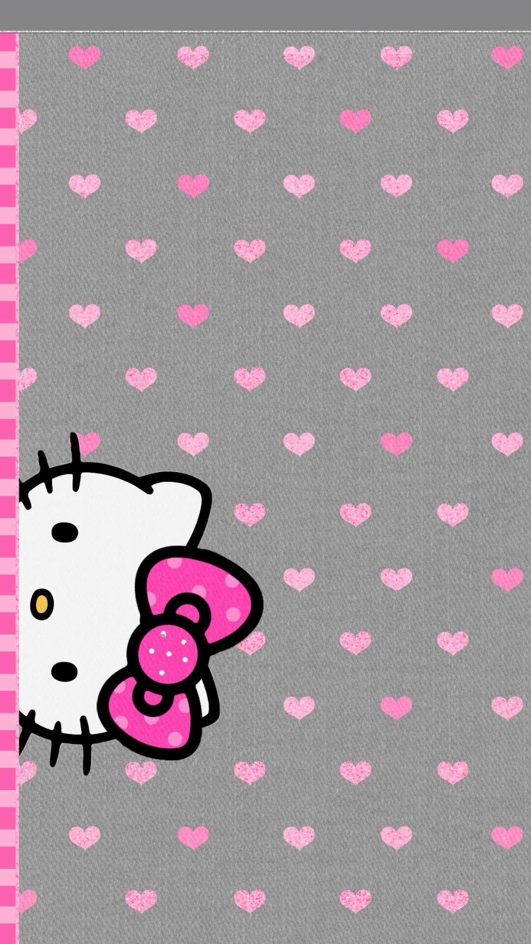 Popular Wallpaper Hello Kitty Dark Pink - 849450-hello-kitty-black-backgrounds-1080x1920-laptop  Picture_619510.jpg